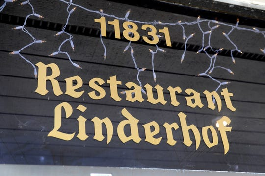 Exterior of the Restaurant Linderhof when it was located at 11831 Kingston Pike in Farragut.