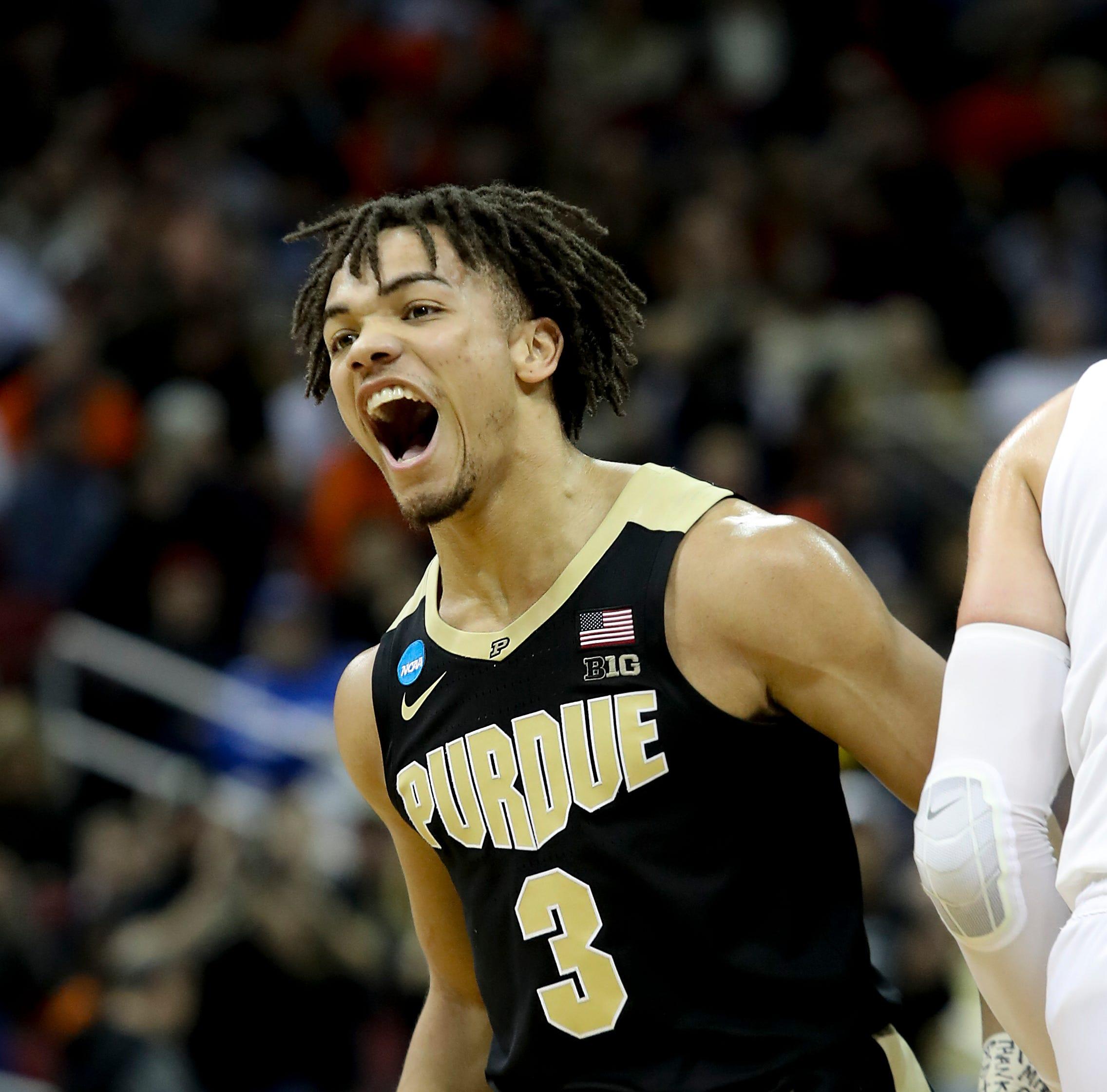 NCAA Elite Eight: Virginia won, but Purdue's Carsen Edwards was the star