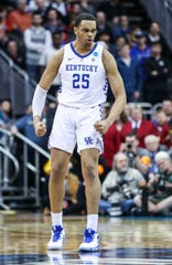 PJ Washington looked great during the NCAA Tournament, but the Wildcats fell short of a Final Four.
