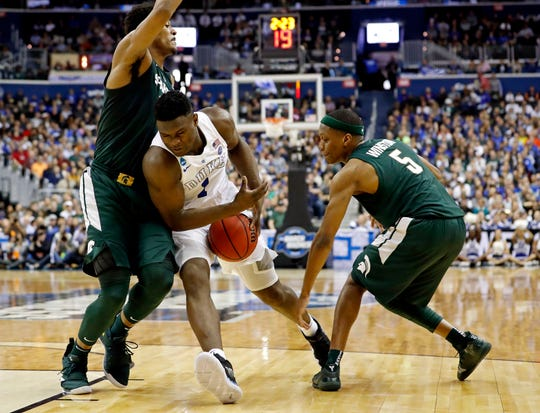 MSU's take down of Duke in the Elite Eight is one of the iconic games in MSU basketball history.