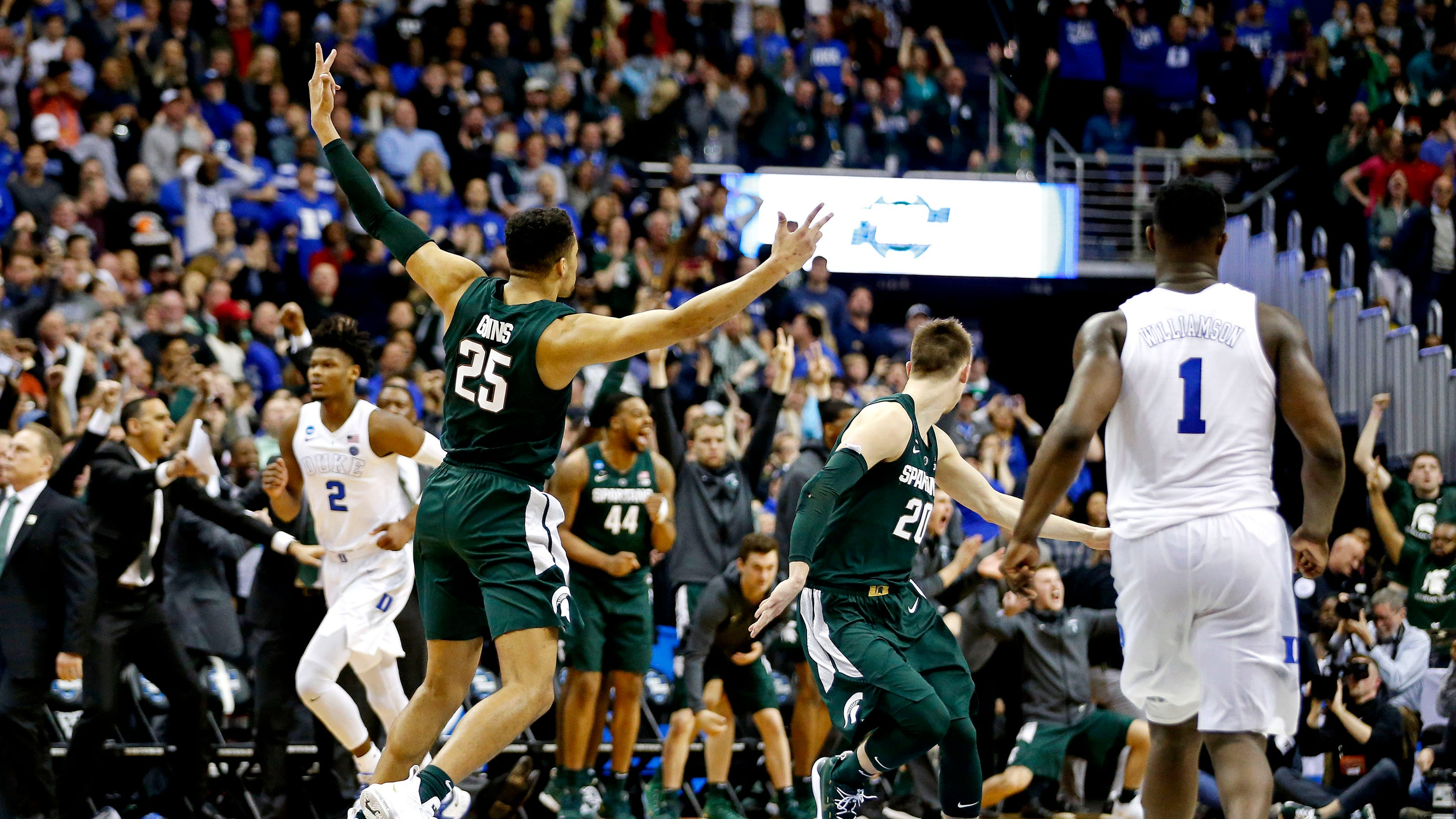 Opinion: Tom Izzo drew up play of his life. Then Michigan State stunned Duke in tournament