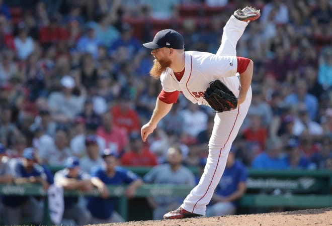 Reliever Craig Kimbrelreportedly was seeking a six-year, $100 million contract.