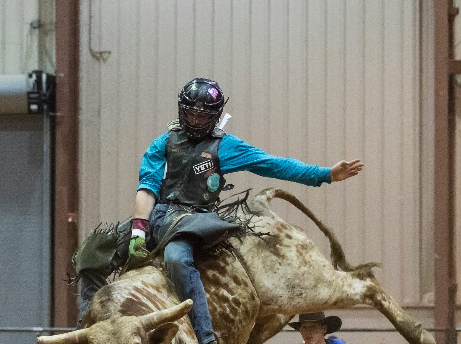 Bulls, Bands and Barrels visited the Ike Hamilton Convention Center in West Monroe on March 30. The event featured bull riding, barrel racing and was capped off by a concert featuring Frank Foster.