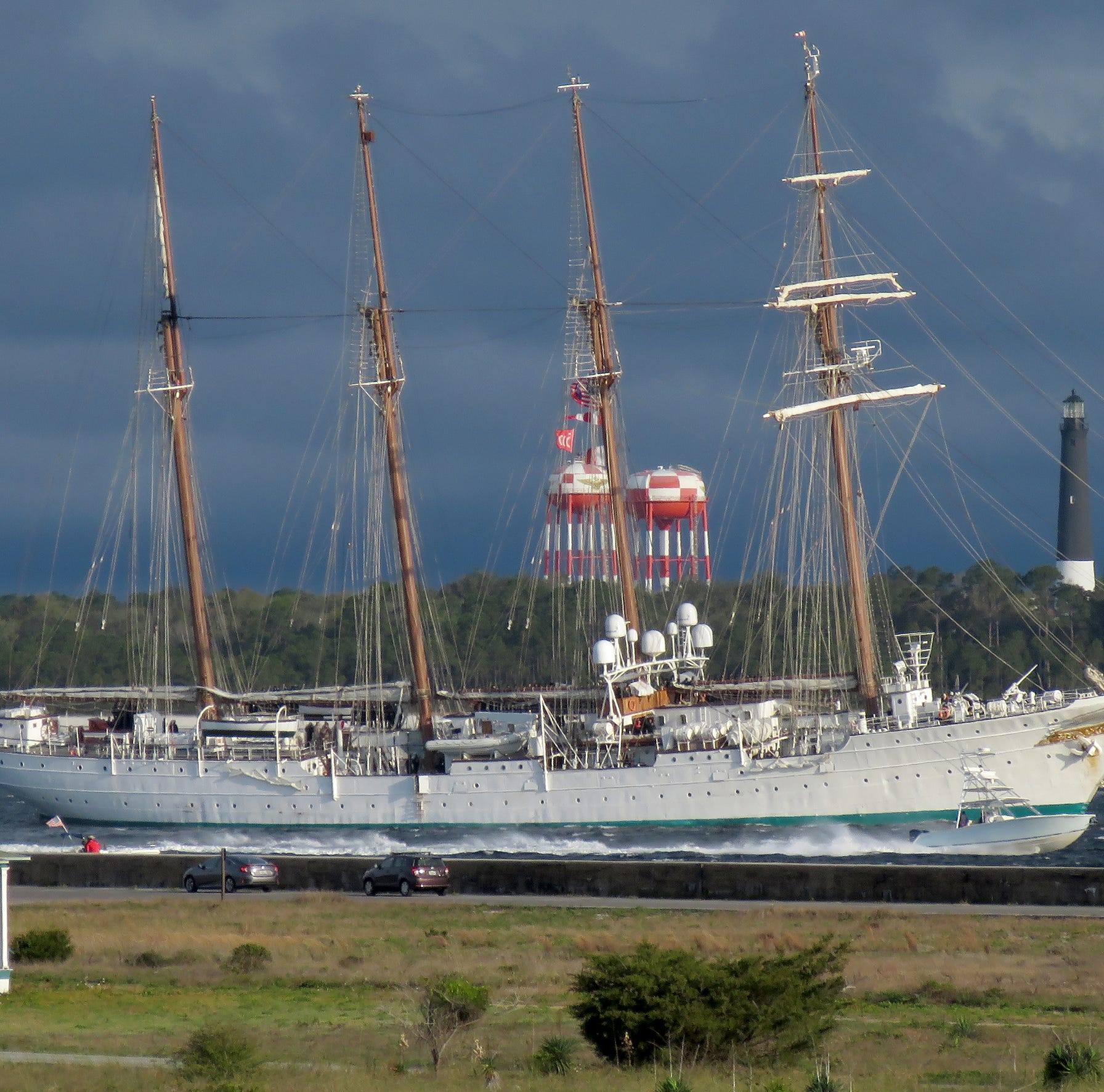 Elcano tall ship sails into Pensacola: What to know before you go