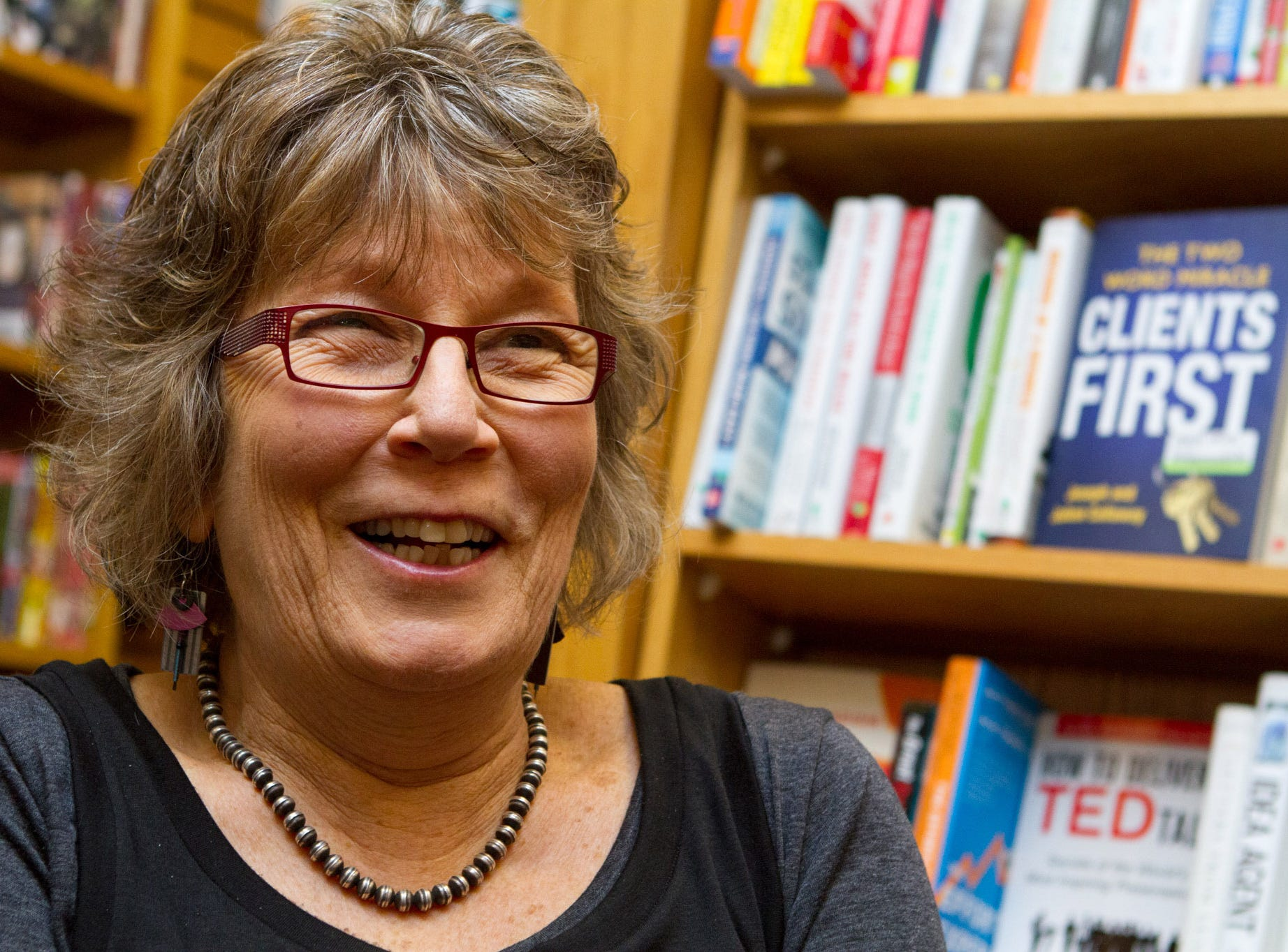 Changing Hands bookstore co-owner Gayle Shanks.