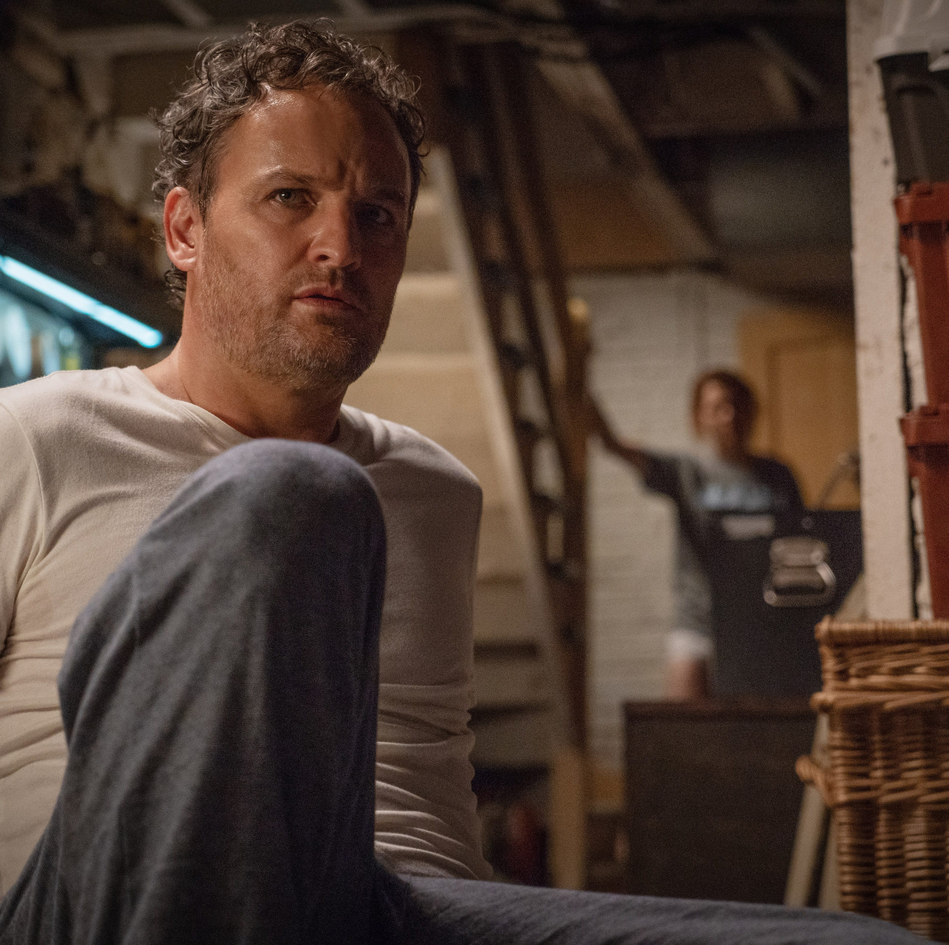 """Louis (Jason Clarke) is haunted by nightmares in """"Pet Sematary."""""""