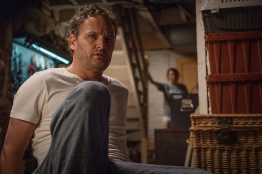 "Louis (Jason Clarke) is haunted by nightmares in ""Pet Sematary."""