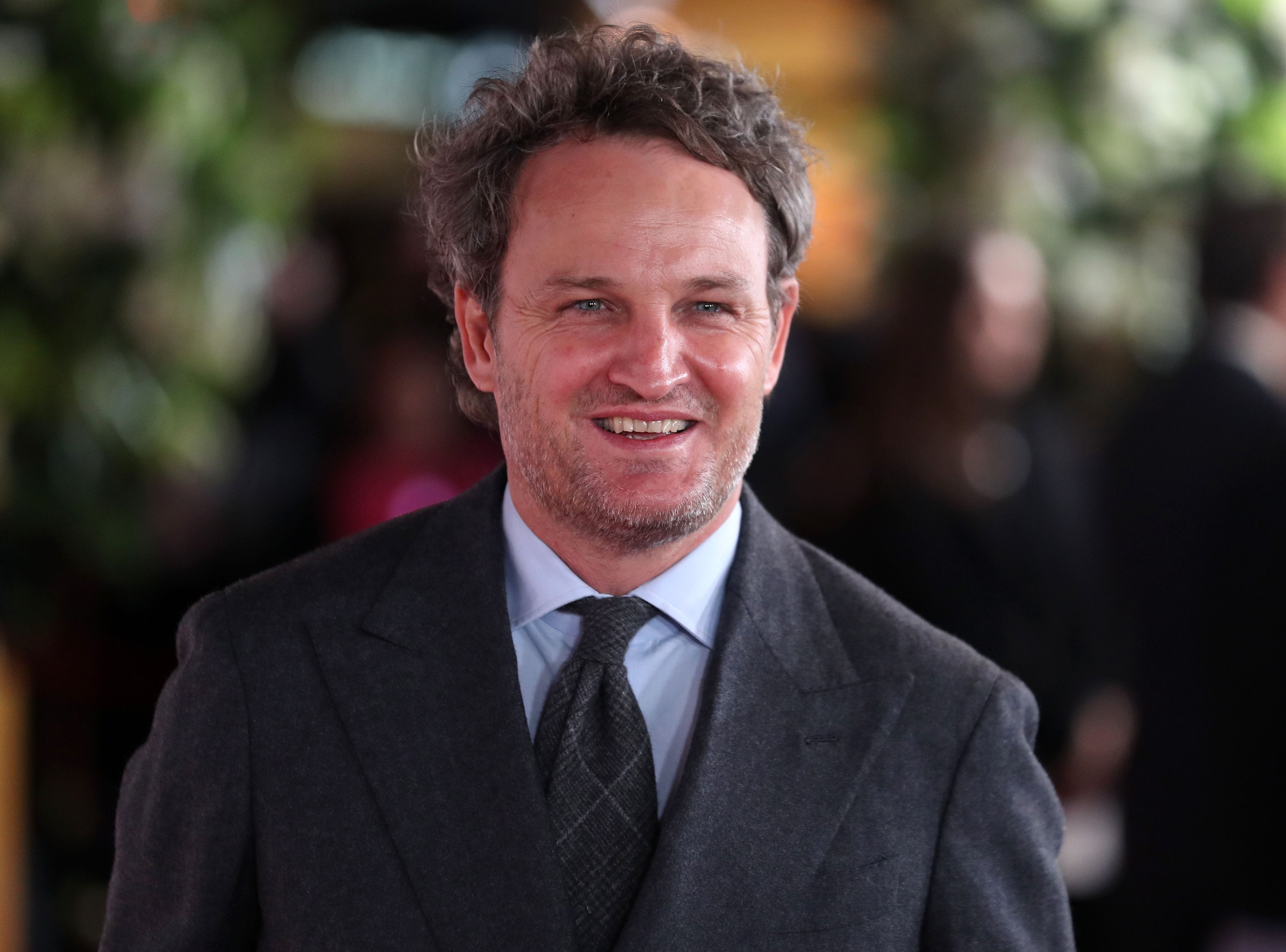 "Jason Clarke attends the premiere of ""The Aftermath"" in London on Feb. 18, 2019."