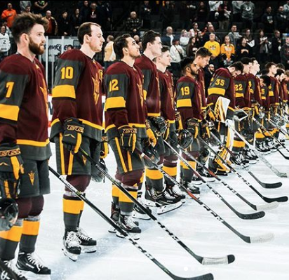 ASU hockey's historic season comes to end with loss to Quinnipiac in NCAA tournament debut
