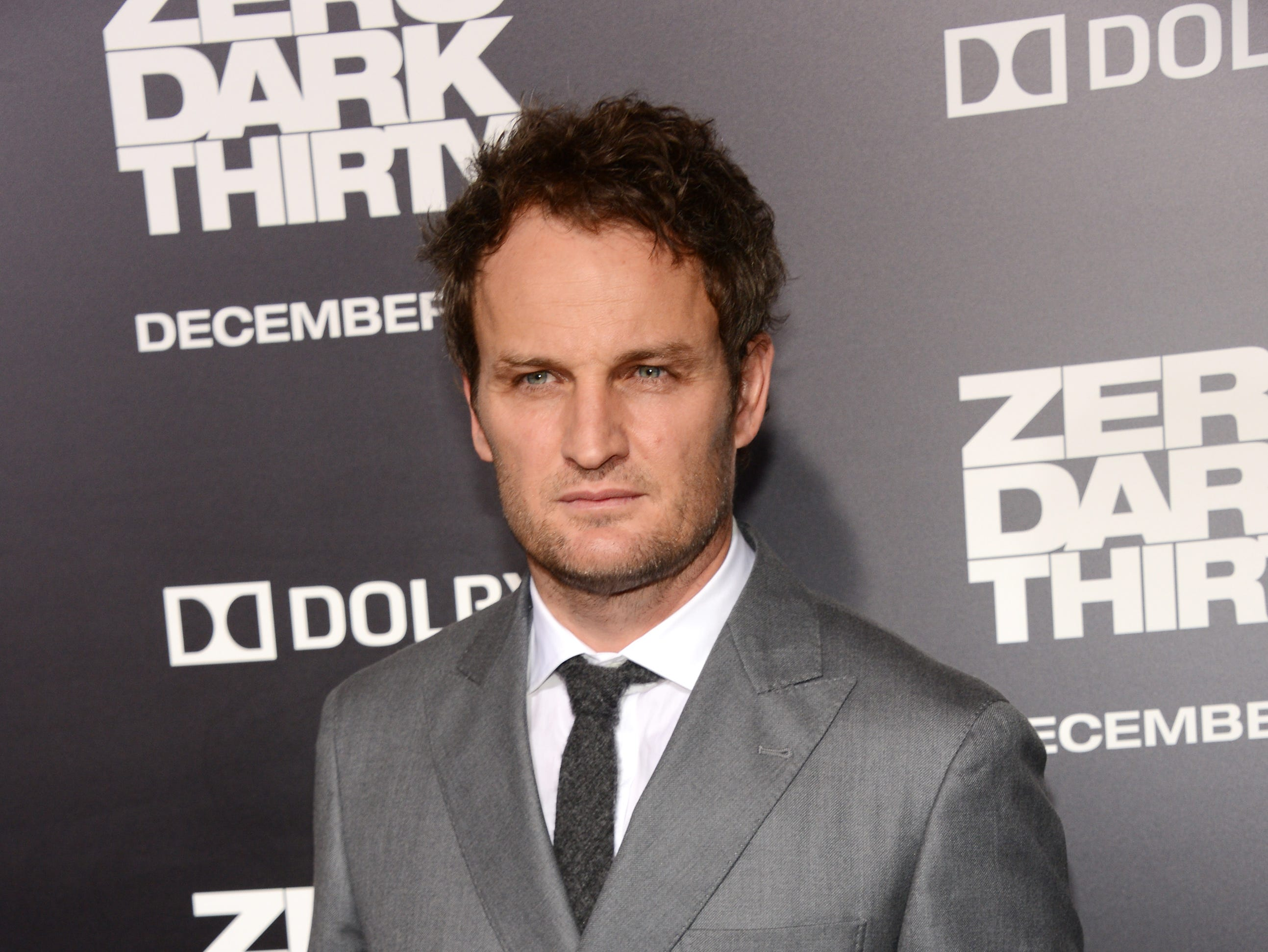"Jason Clarke arrives for the premiere of  ""Zero Dark Thirty"" in Hollywood on Dec. 10, 2012."