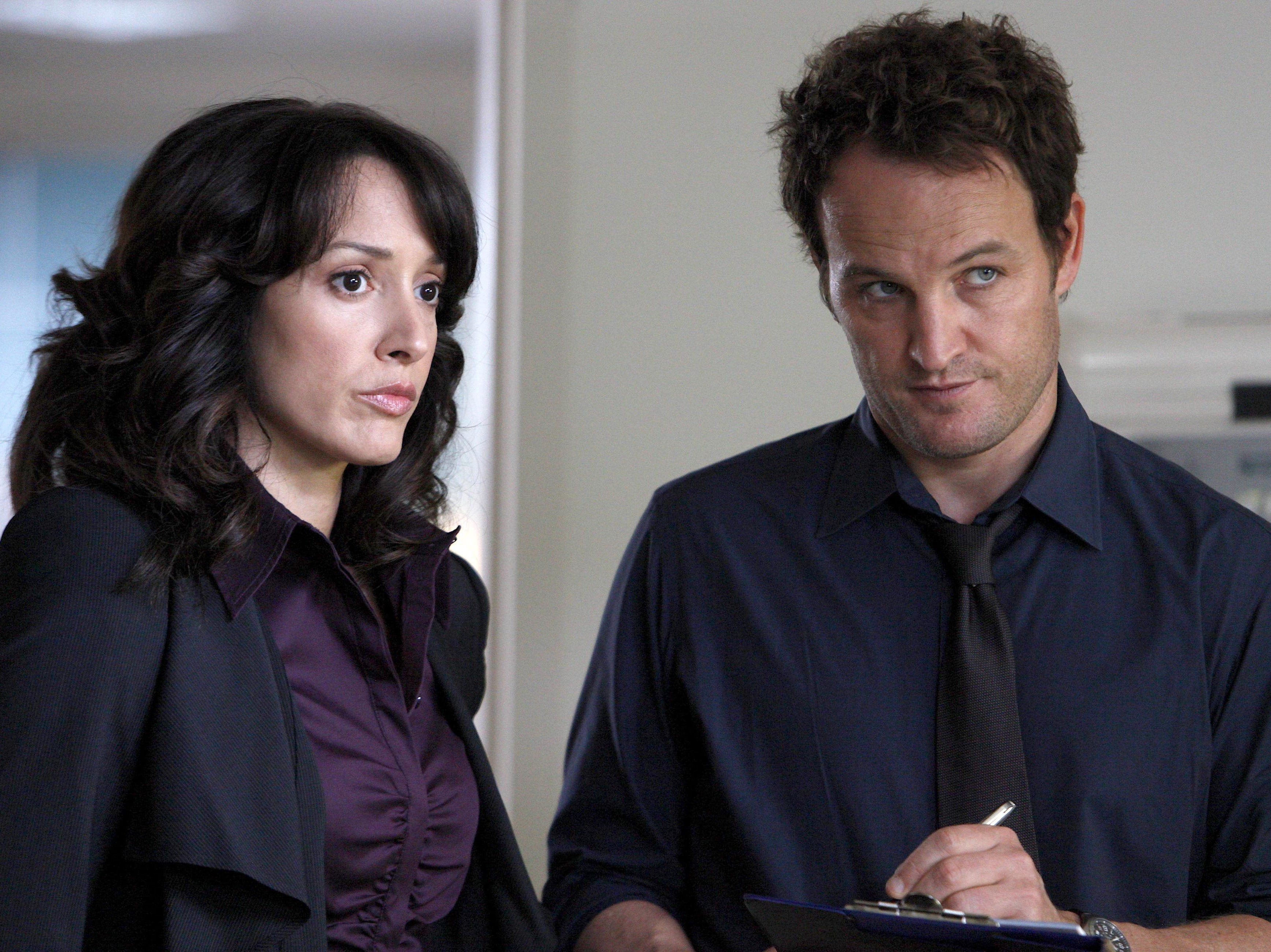 "Jason Clarke plays a Chicago cop in ""The Chicago Code,"" which also features Jennifer Beals. The series ran in 2011 on Fox."
