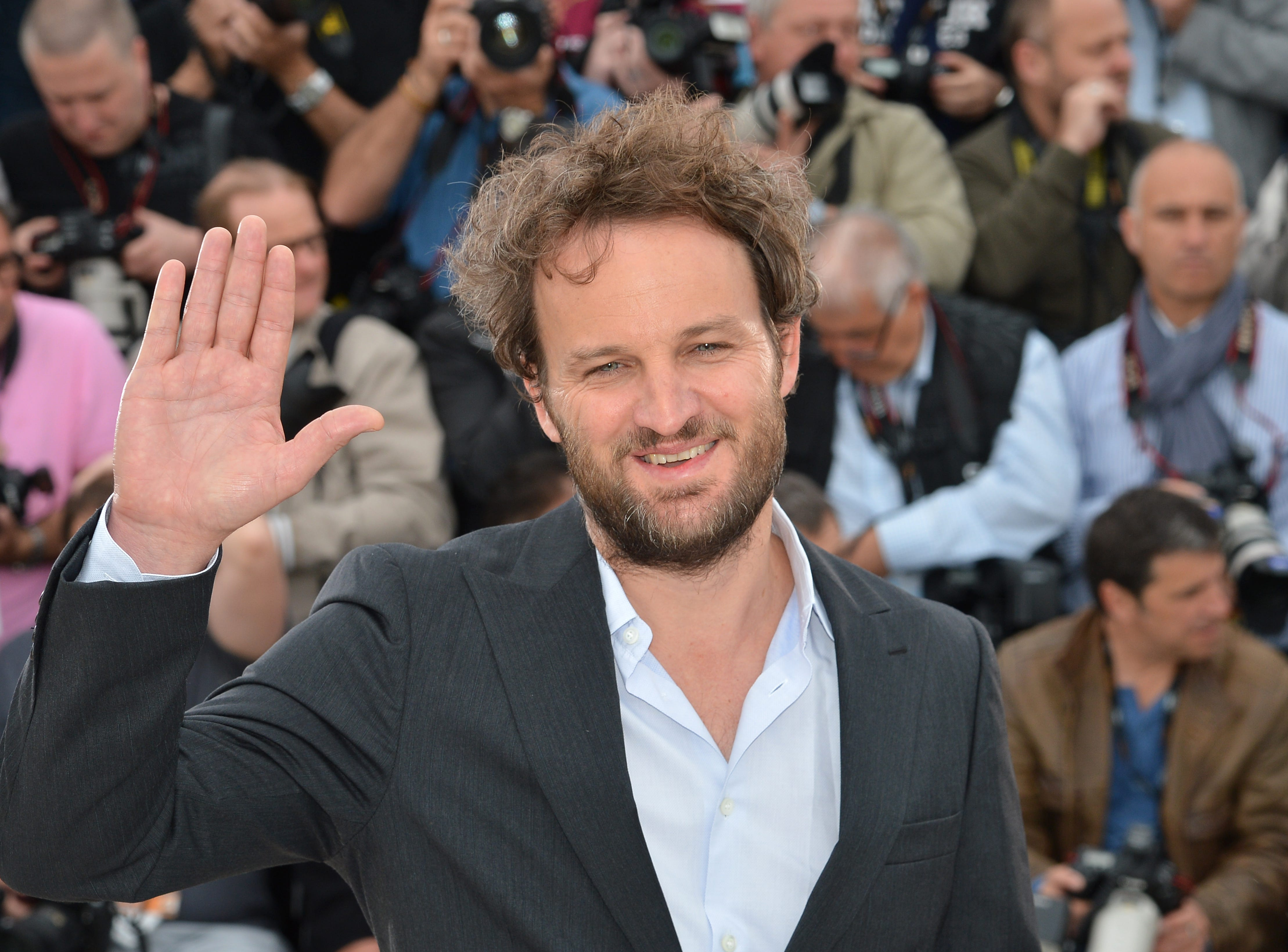 "Jason Clarke promotes ""Lawless""  on May 19, 2012, in Cannes."