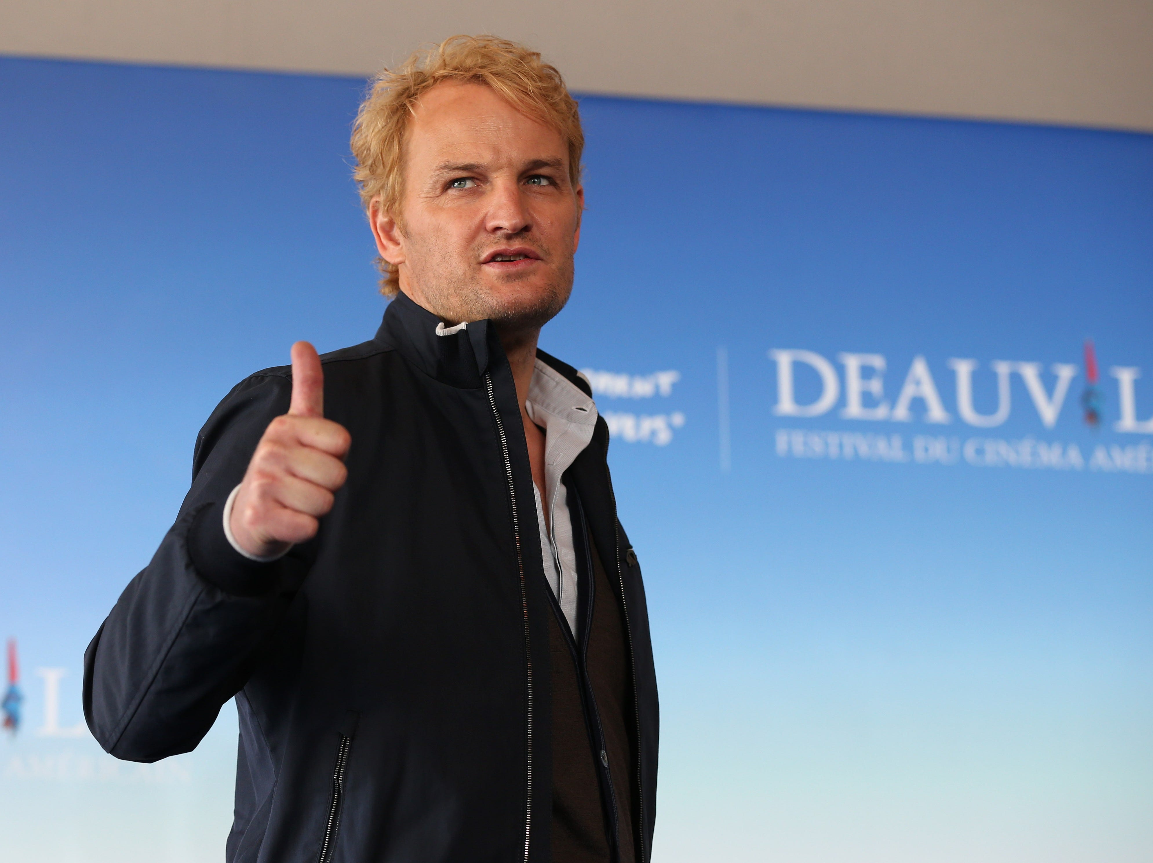"Jason Clarke presents ""Everest"" on Sept, 5, 2015, during the 41th Deauville US Film Festival."