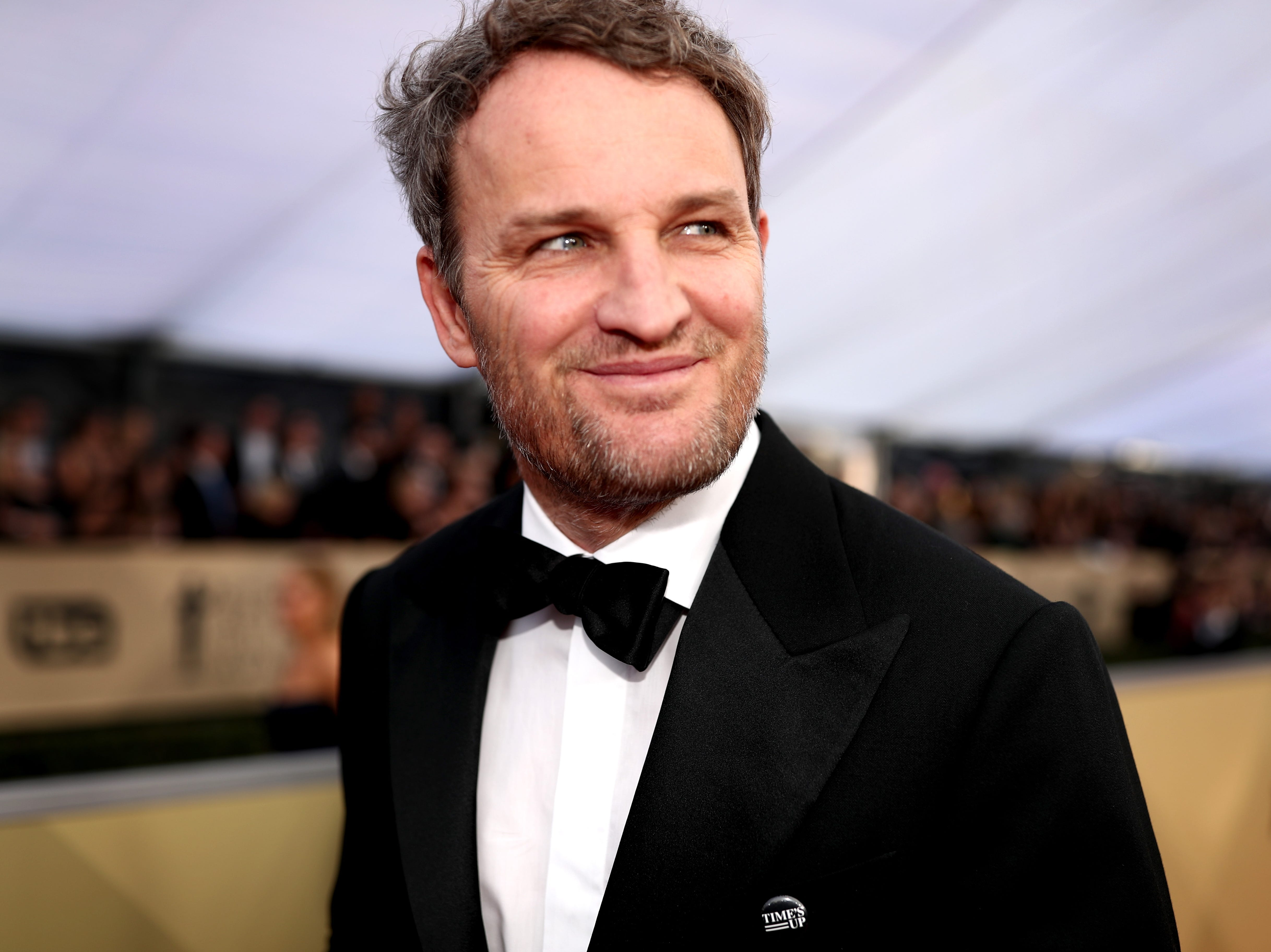 Jason Clarke attends the Screen Actors Guild Awards  on Jan. 21, 2018, in Los Angeles.
