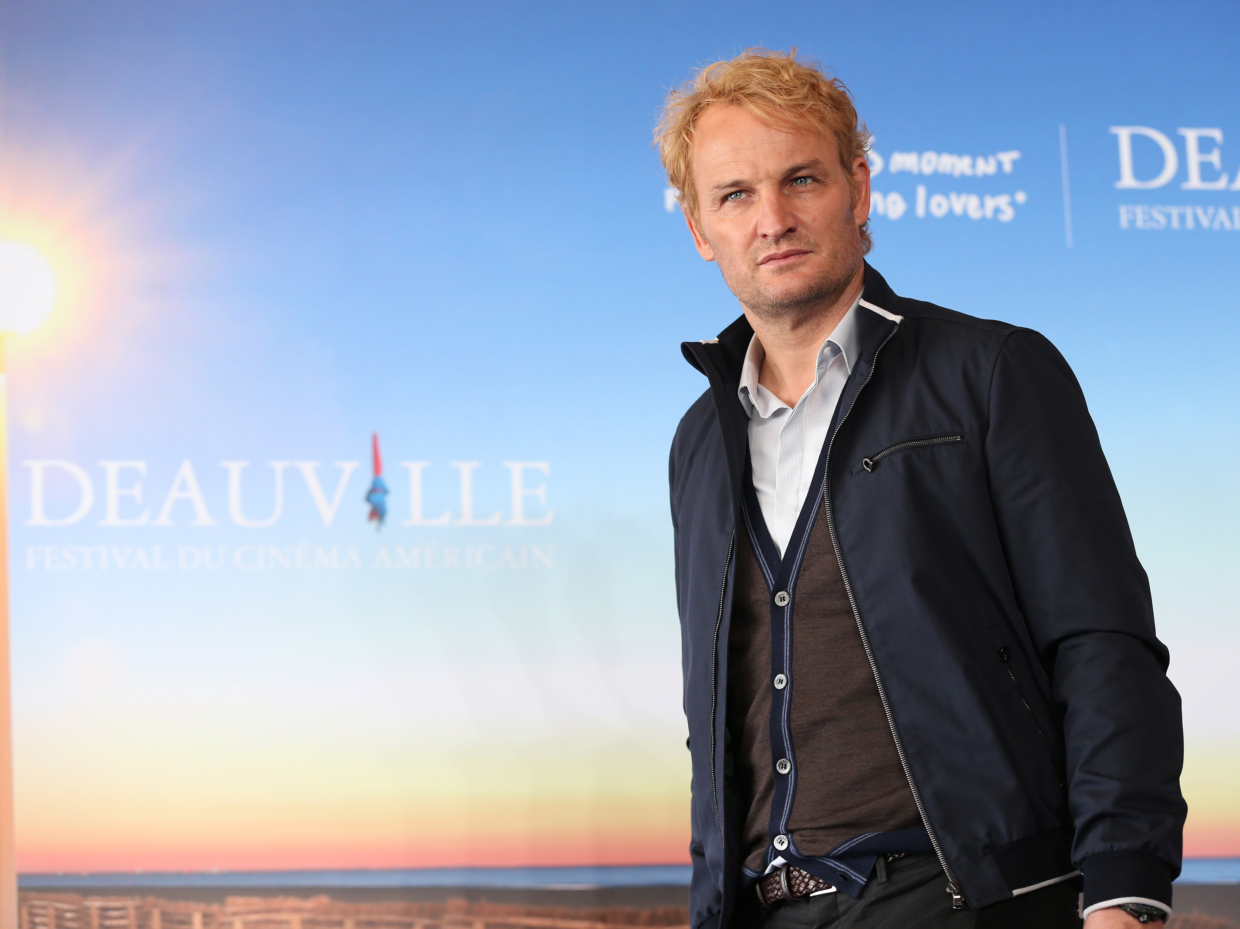 "Looking good: Jason Clarke presents ""Everest"" on Sept, 5, 2015, during the 41th Deauville US Film Festival."
