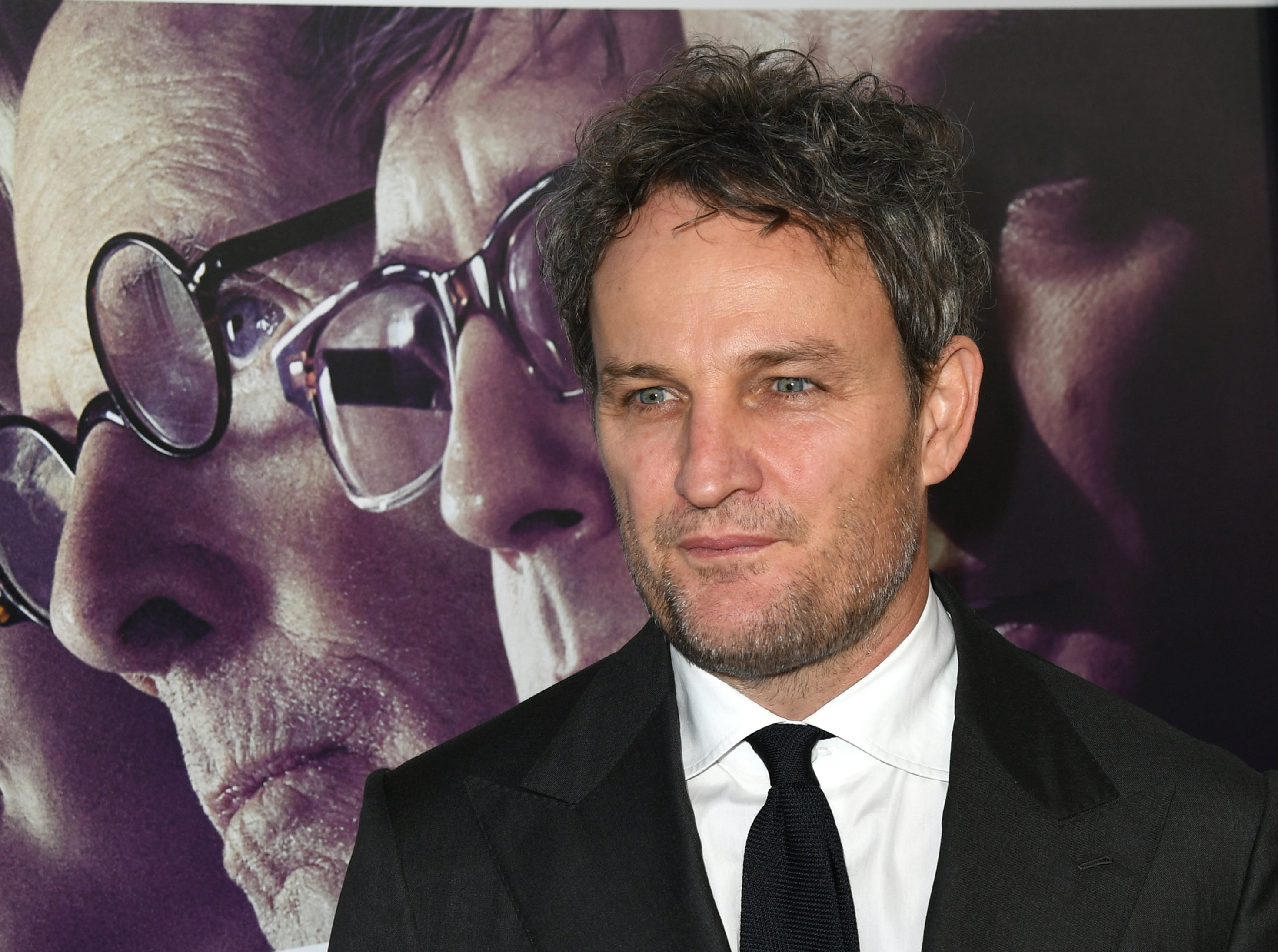 "Jason Clarke arrives at the premiere of  ""Chappaquiddick"" on March 28, 2018, in Beverly Hills, California."