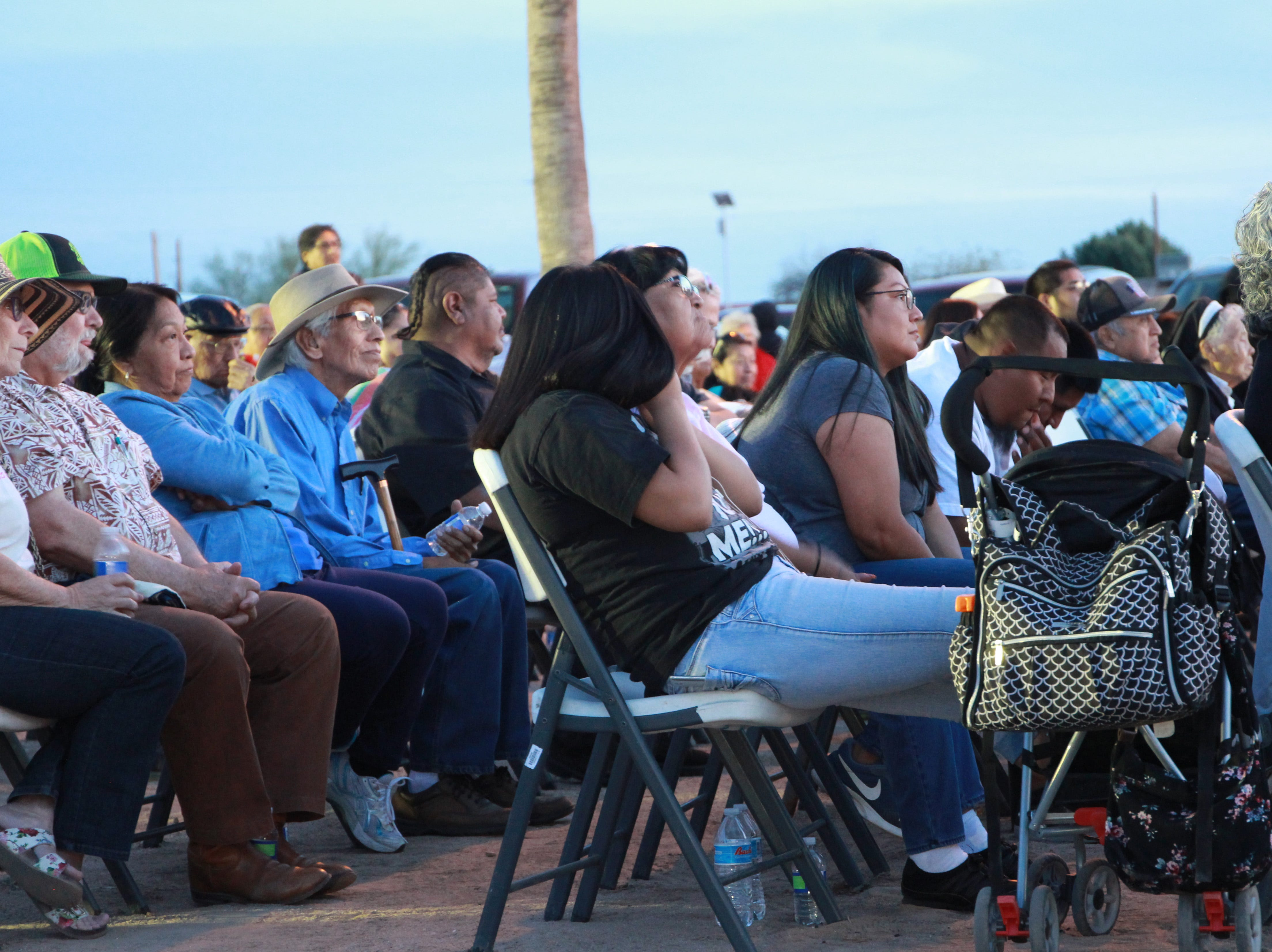 Hundreds of people attended the vigil, most with deep connections to the church.