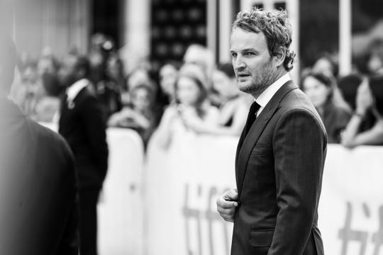 "Matinee idol: Jason Clarke attends the premiere of ""Mudbound"" at the Toronto International Film Festival on Sept. 12, 2017."