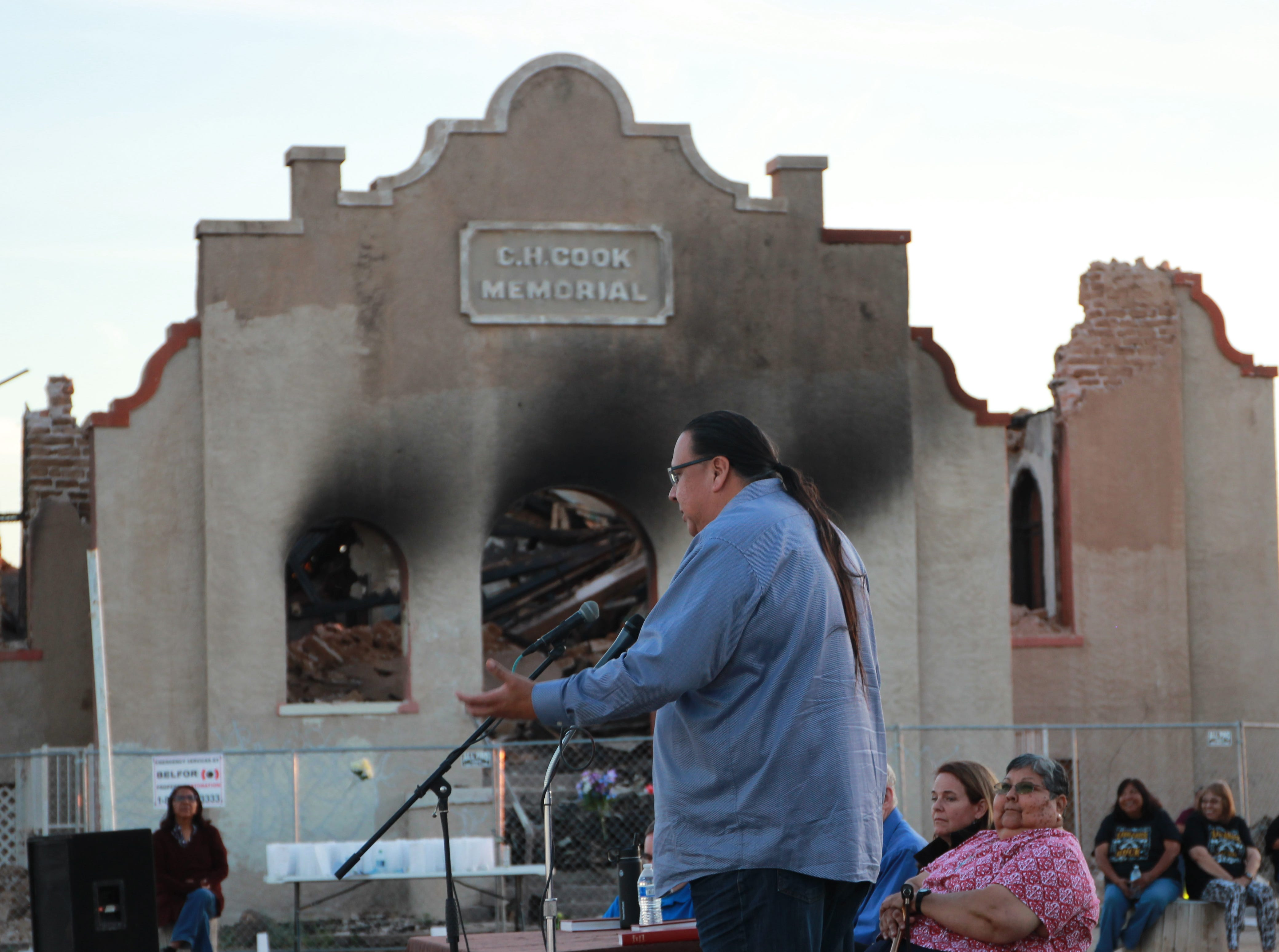 Governor of the Gila River Indian Community, Stephen Roe Lewis, shares his memories of the church.