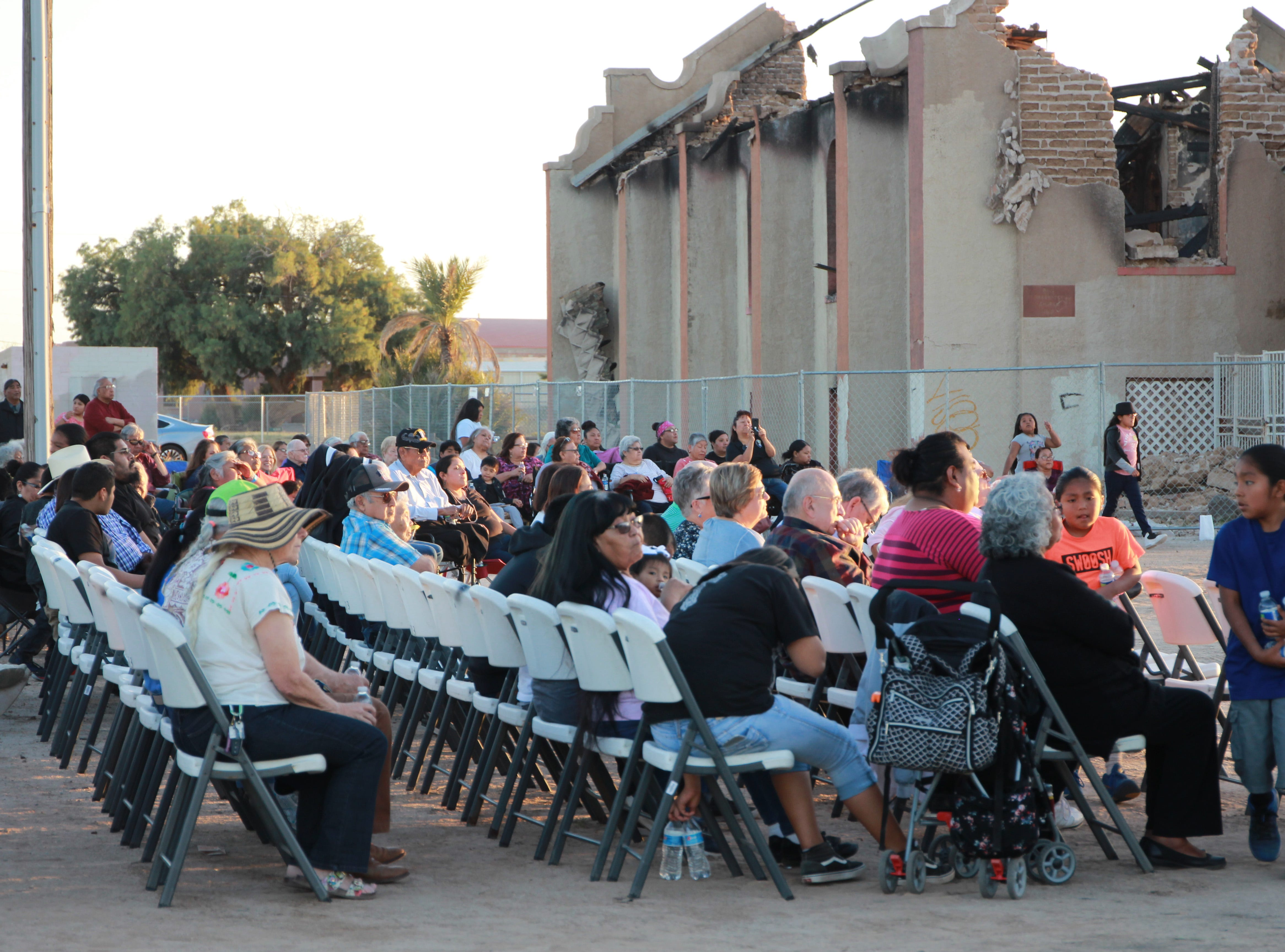 Hundreds gathered Friday for an evening of prayer, memories and community.