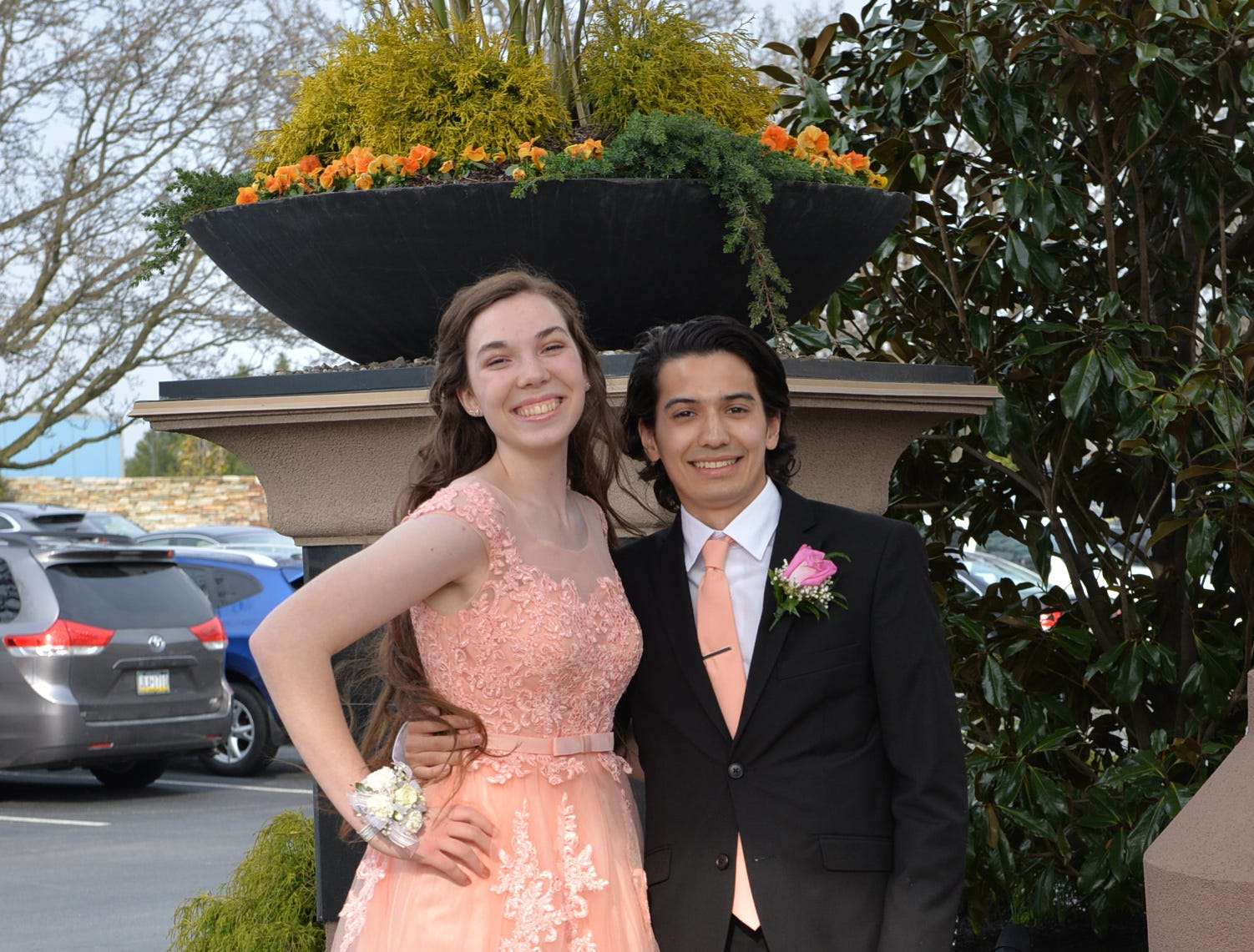Students attend the 2019 Elco High School prom at Eden Resorts on Saturday, March 30, 2019.