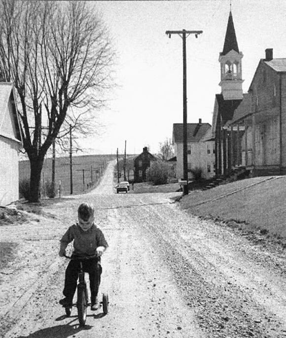 Potosi, in Springfield Township, years ago.