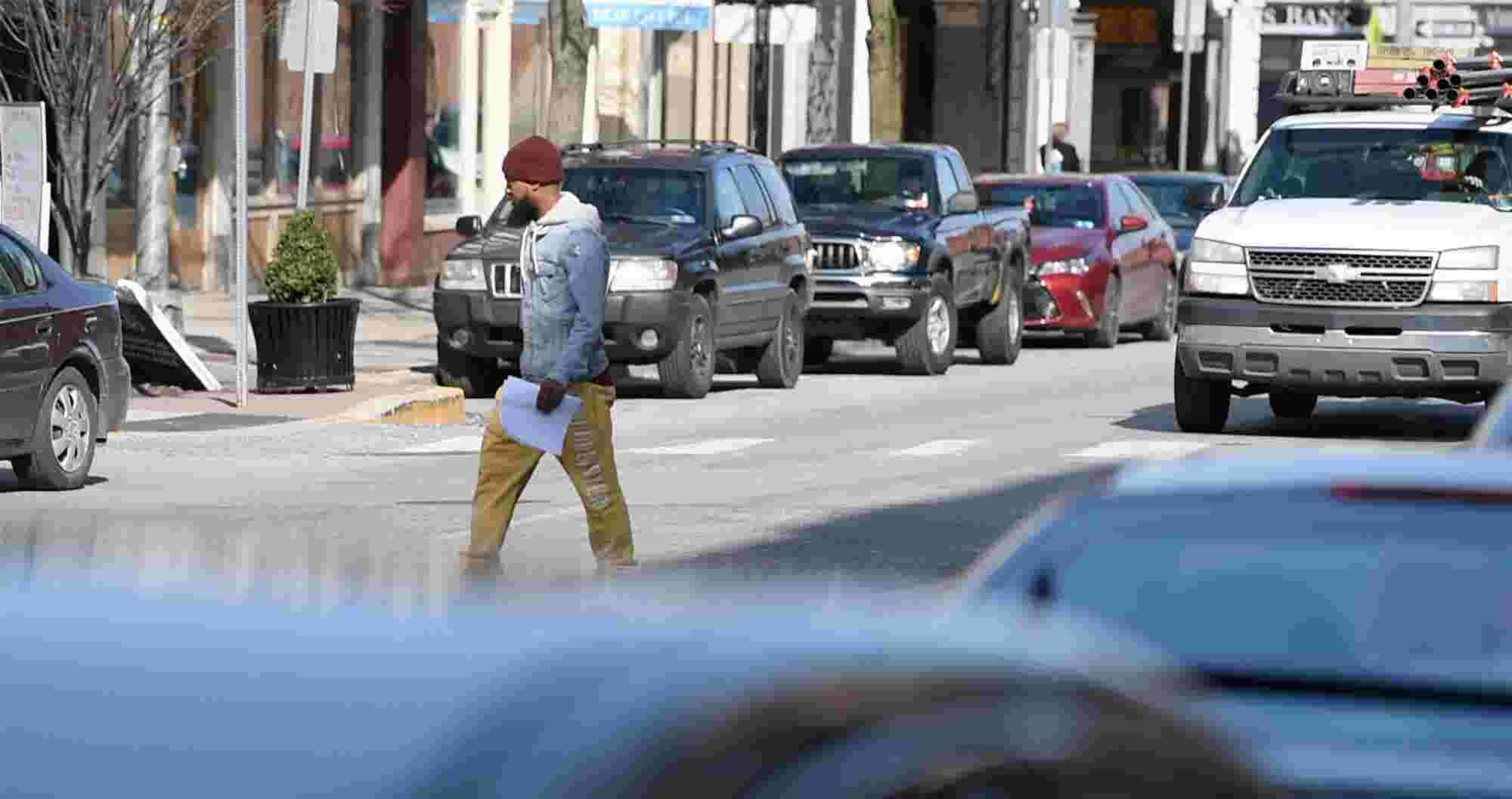 Here are the rules for jaywalking and crosswalk safety