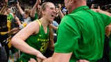 Oregon beat Mississippi State 88-84 on Sunday to advance to the Women's Final Four for the first time.