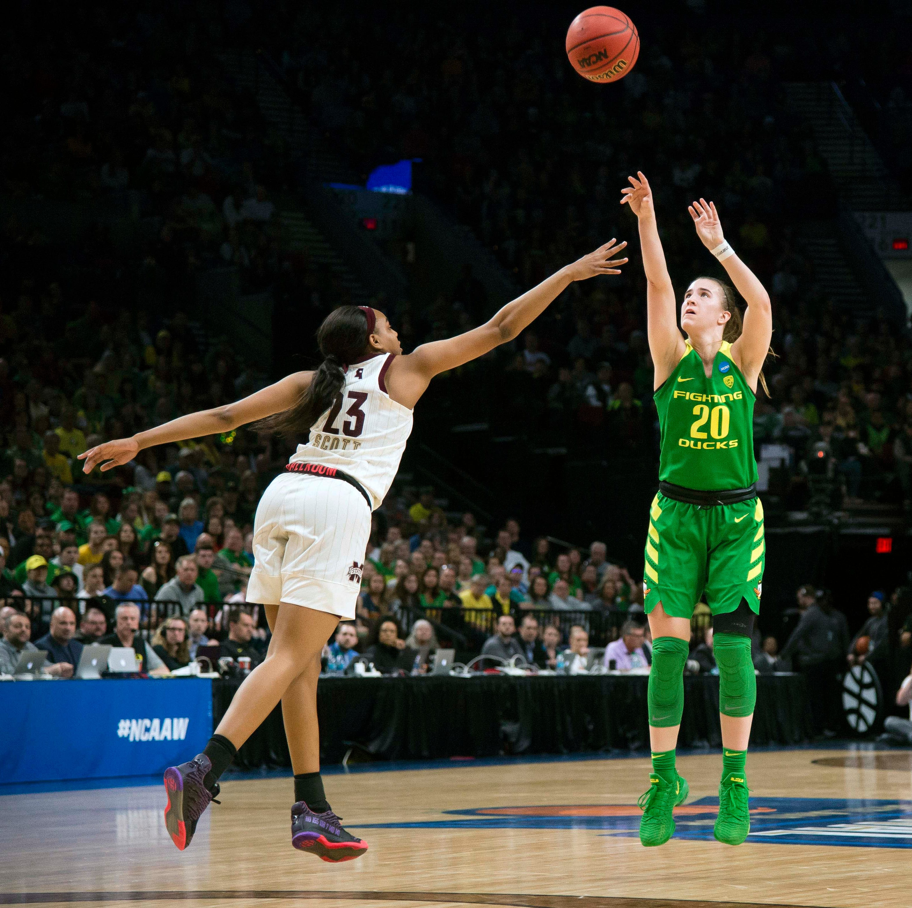 Mississippi State falls to Oregon in Elite Eight, ending Bulldogs' Final Four streak