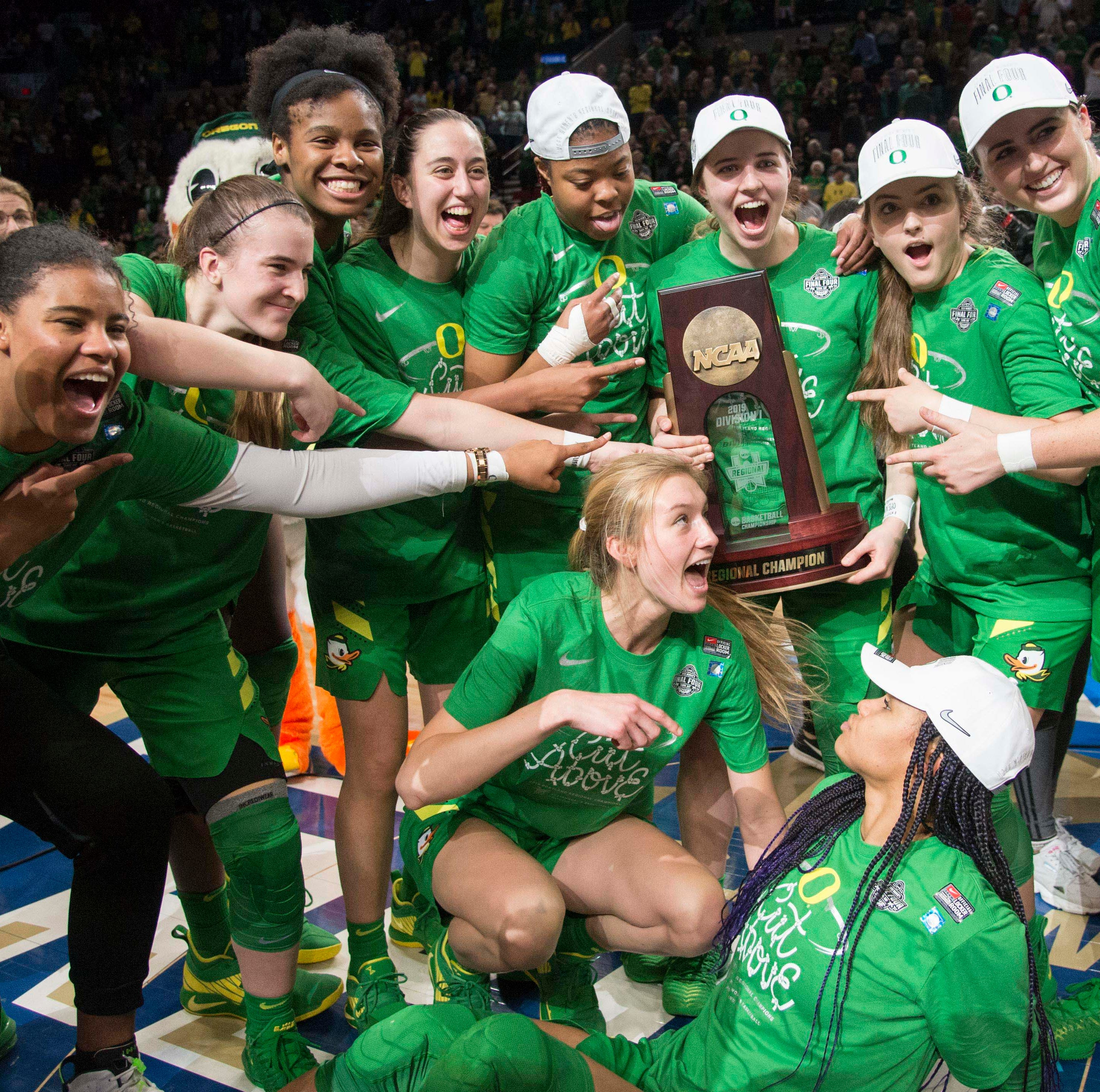 Oregon Ducks women's basketball headed to the NCAA Final Four