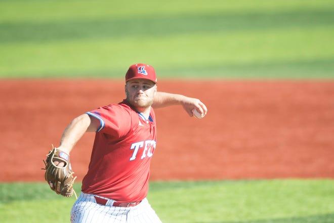 Senior Louisiana Tech starter Logan Bailey.