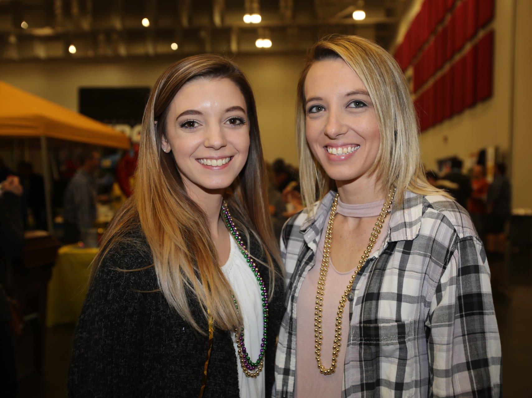 Dani Tracy and Megan Hawkins