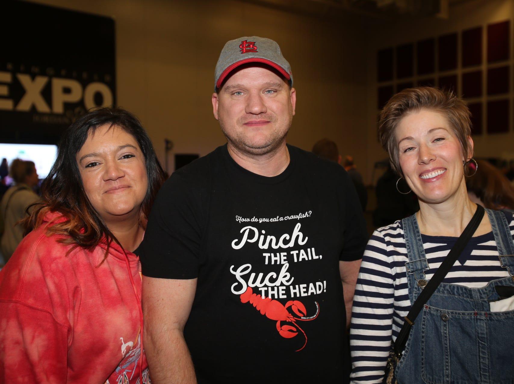 Tara, Robert, and Michelle Eiken
