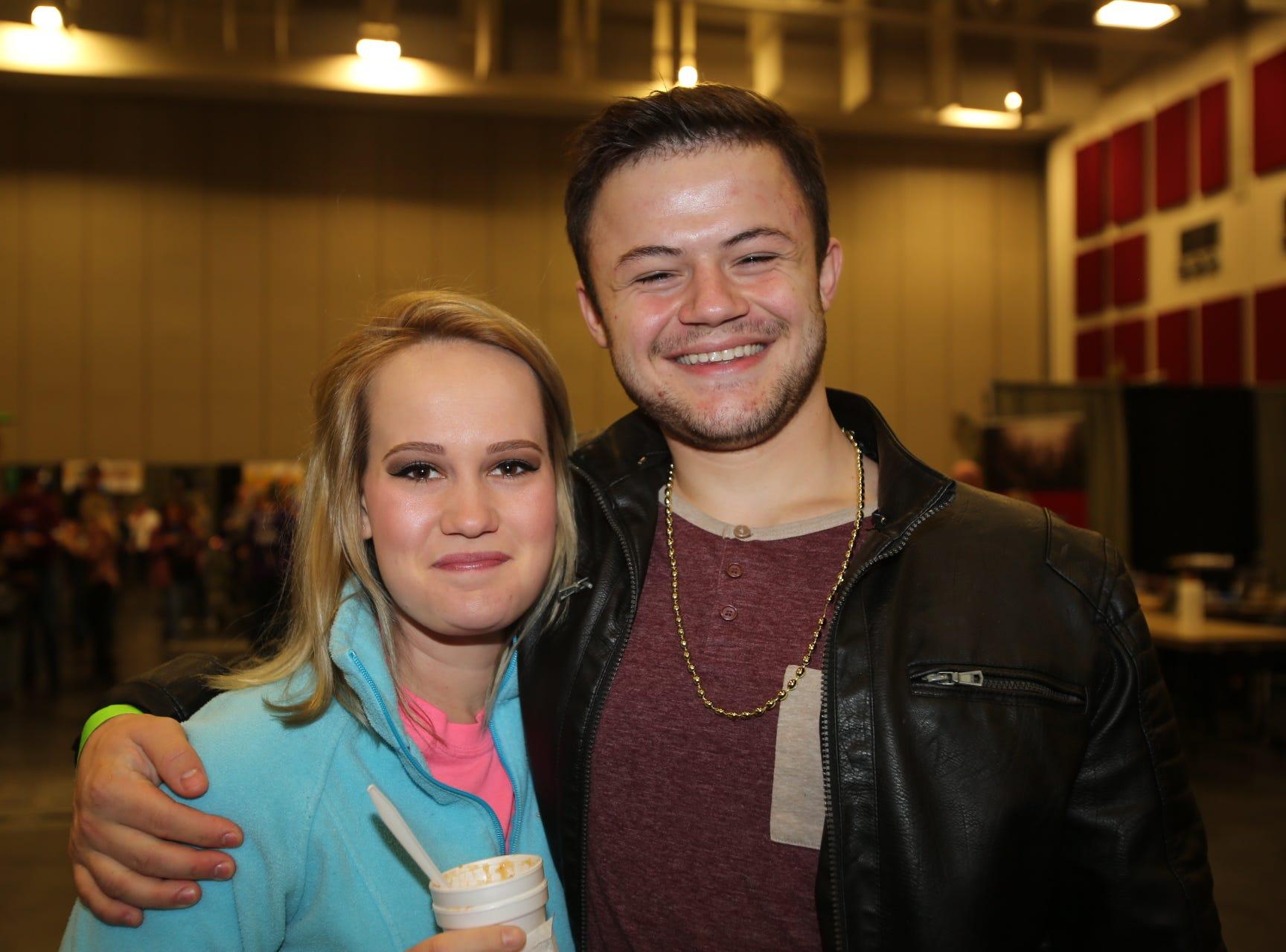 Hannah Sanders and Jacob Pessina