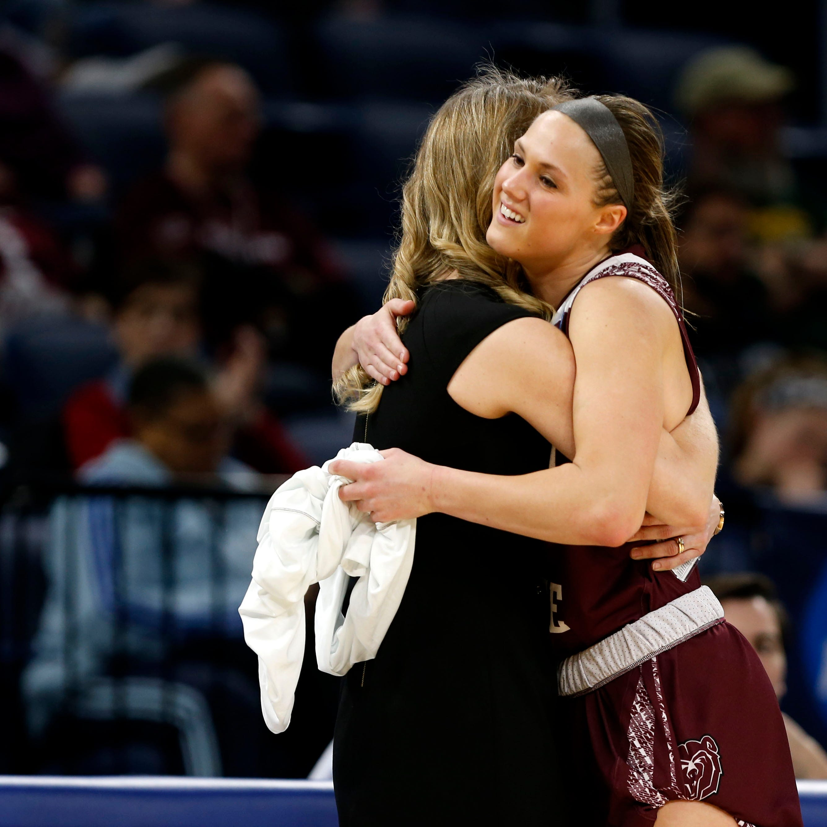 'I was honored to wear a Lady Bear jersey': MSU's lone senior smiles through end of historic season