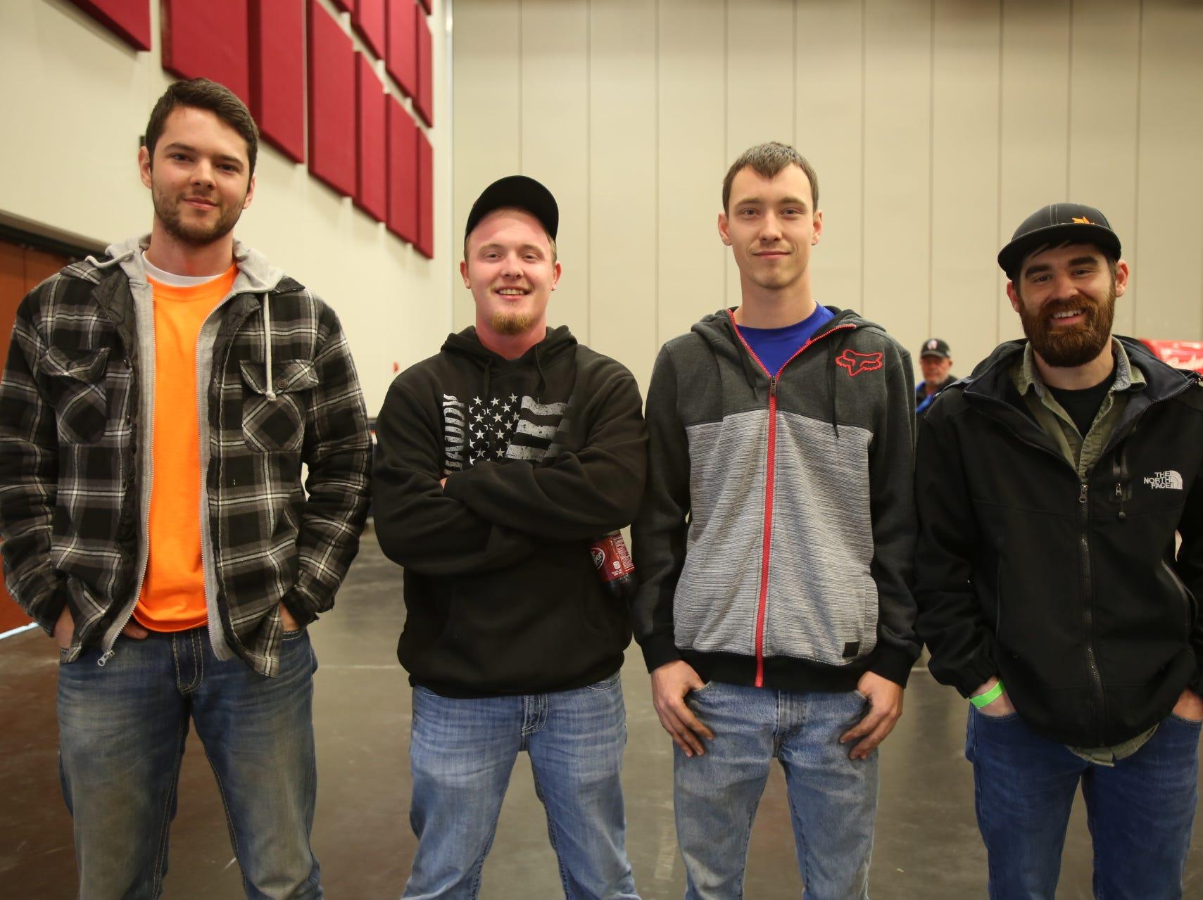 Jusitn Johnson, Tyler Tracy, Glenn Murray, and Kyle Whobrey