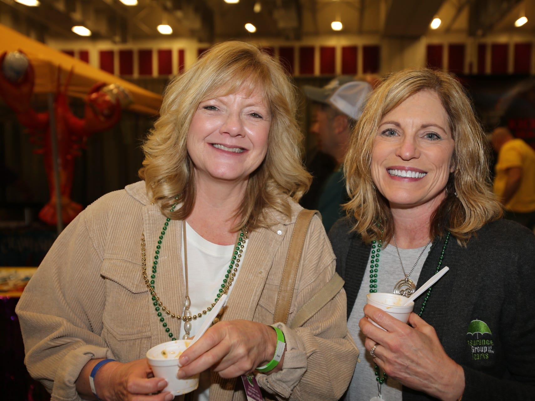 Lori Collette and Angie Serrano