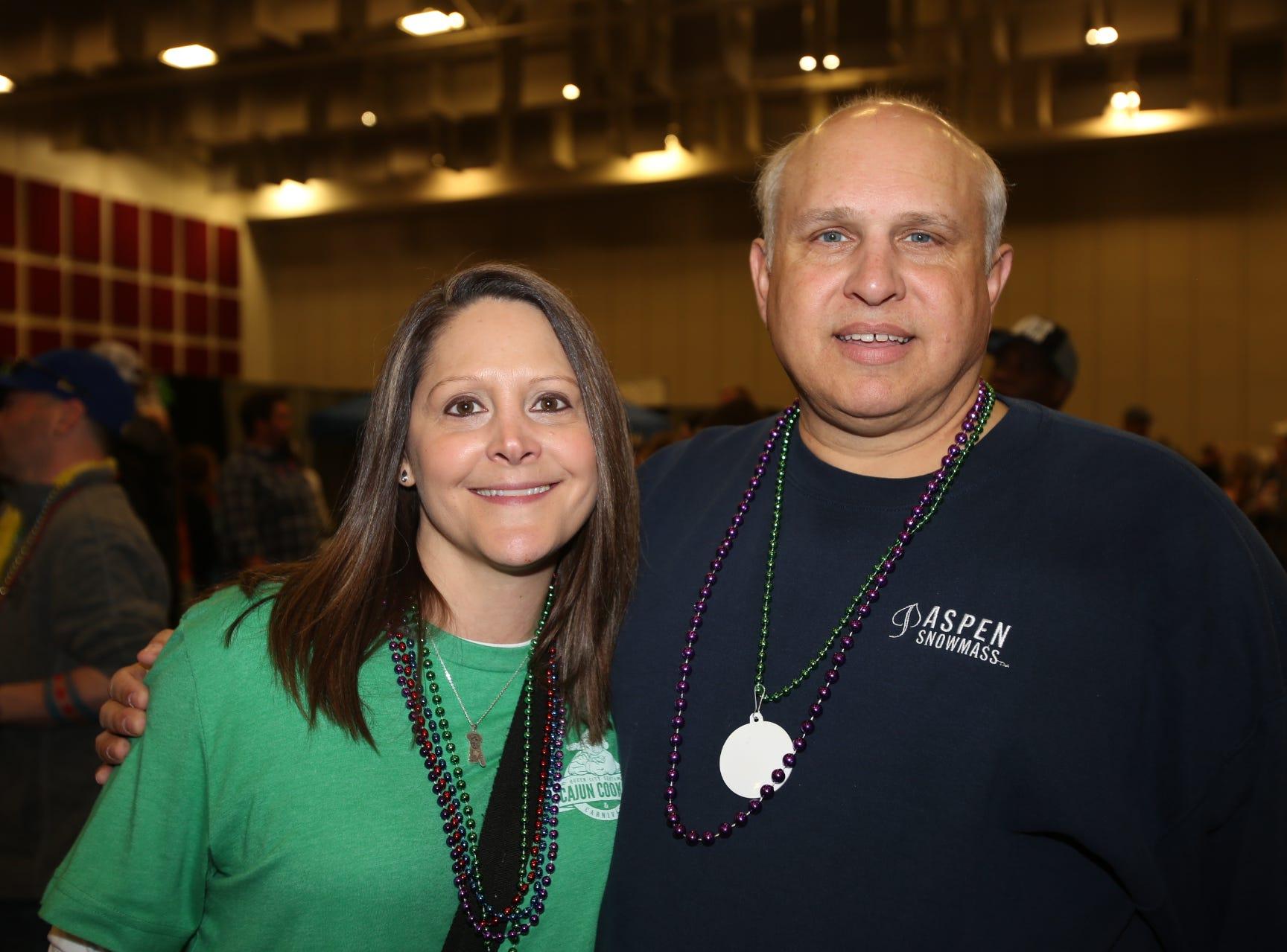 Elena Hart and Bruce Rainwater
