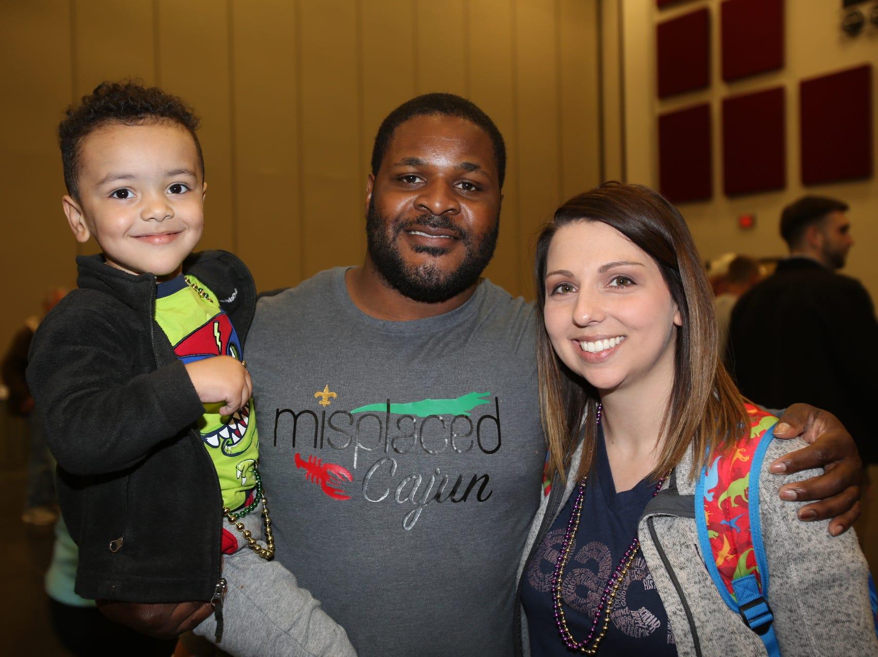 Caden, Casey, and Jordan Henderson