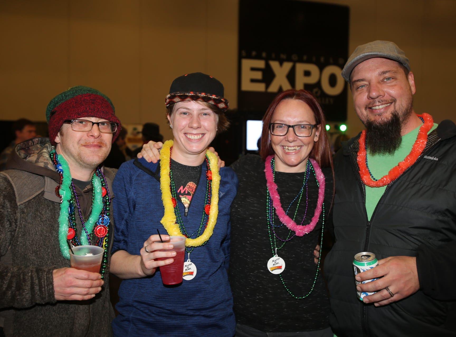 Jeremy Depriese, Amanda Wyatt, Sara Eisenhauser, and Brian Keener