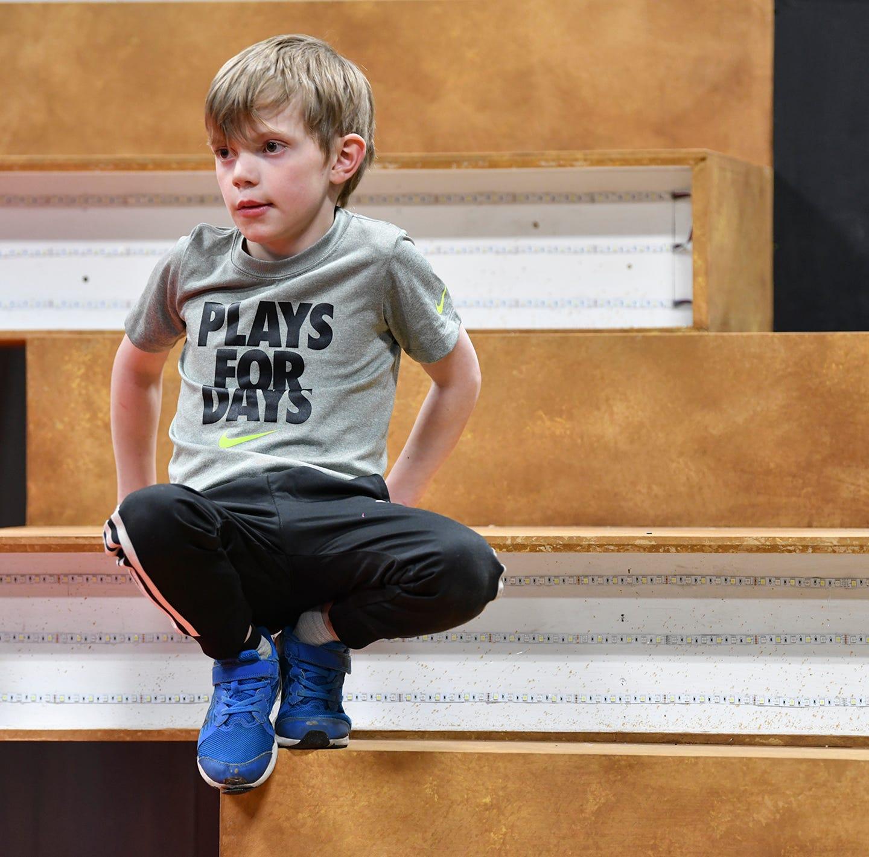 Go, go, go, Blake! Local boy with rare heart condition performs for CentraCare fundraiser