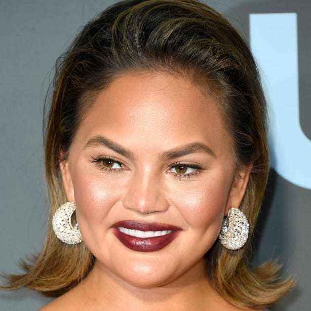 Chrissy Teigen says the thinnest she's ever been was after she had her daughter Luna, but that was thanks to postpartum depression.