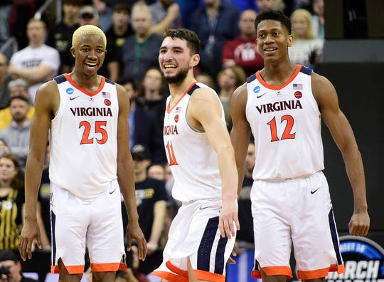 Virginia is in the Final Four for the first time since 1984.