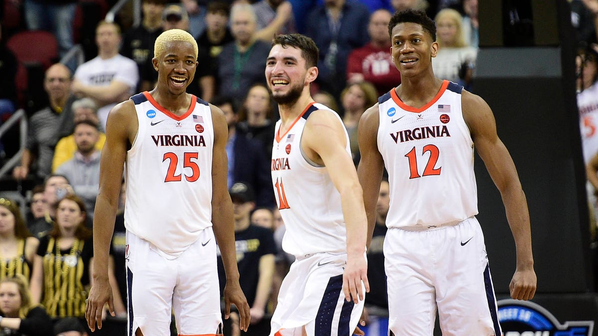 Virginia is headed back to the Final Four for the first time since 1984.