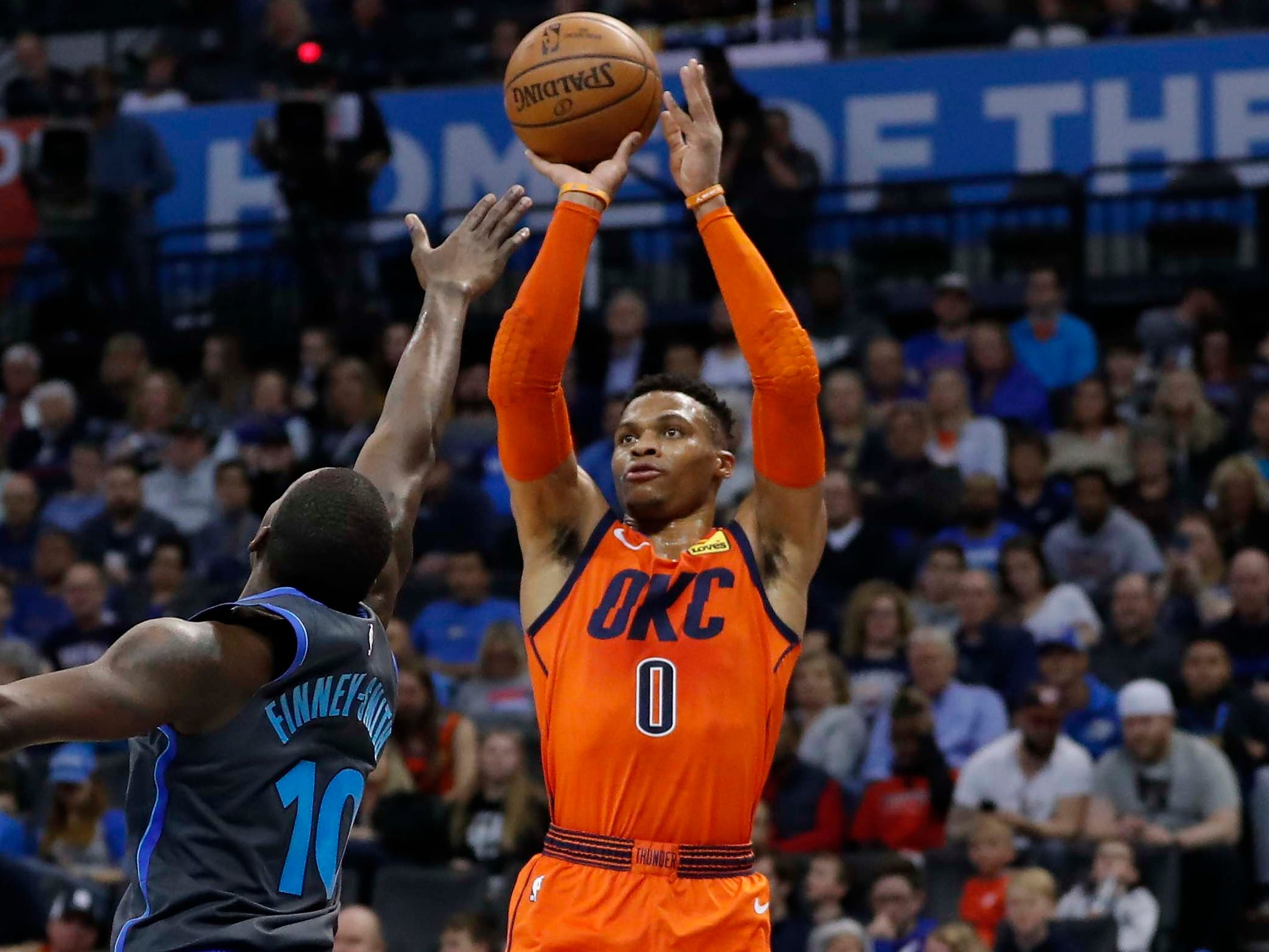 113. Russell Westbrook, Thunder (March 31): 25 points, 11 assists, 11 rebounds in 106-103 loss to Mavericks (30th of season).