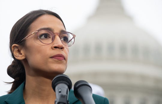 Rep. Alexandria Ocasio-Cortez, D-New York, is a frequent target of conservative criticism.