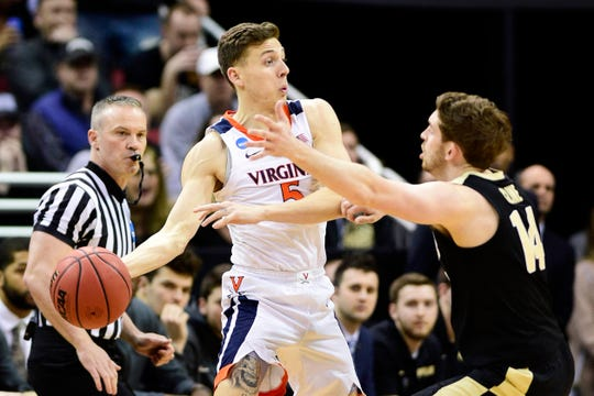 Guard Kyle Guy and the Virginia Cavaliers are going to the Final Four.