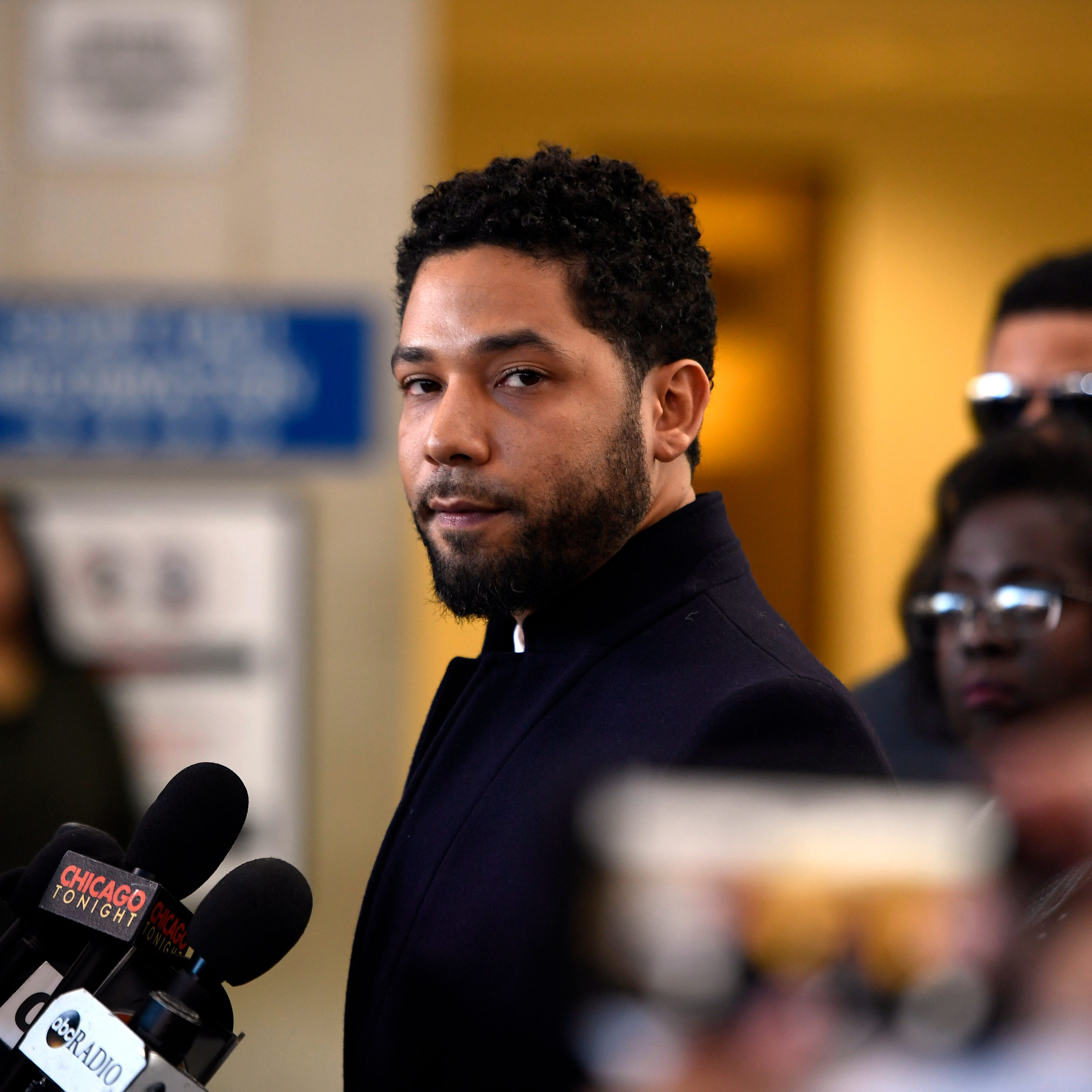 "Jussie Smollett got the ""SNL"" treatment Saturday night."