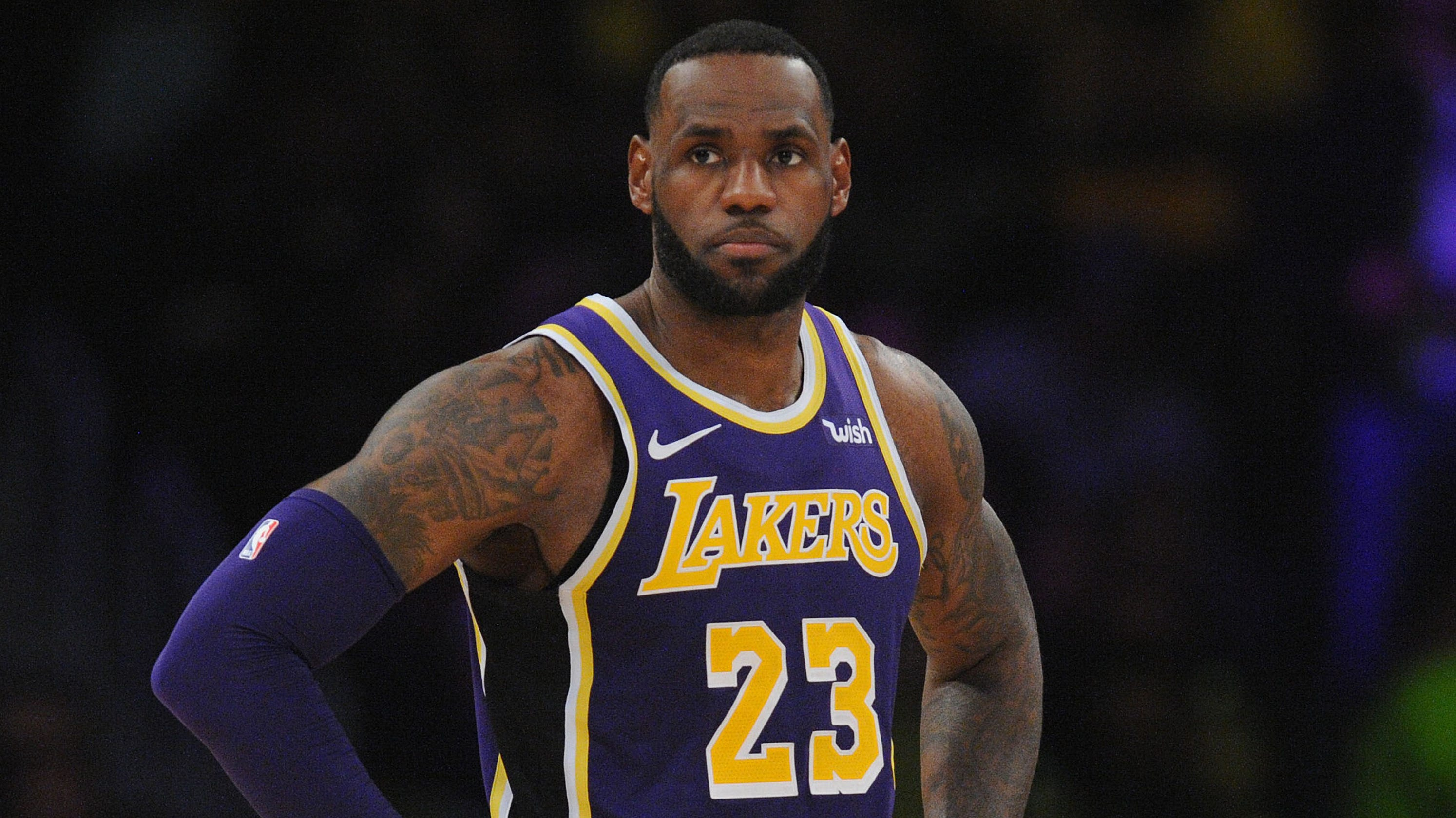 ff05d1b3d LeBron James: Lakers fans left wanting more from three-time NBA champ