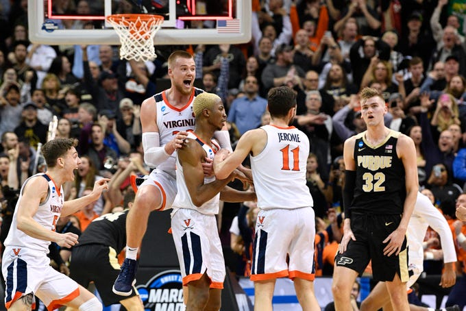 1 Moment To Celebrate From Every 2019 March Madness Game: NCAA Tournament TV Schedule: How To Watch March Madness